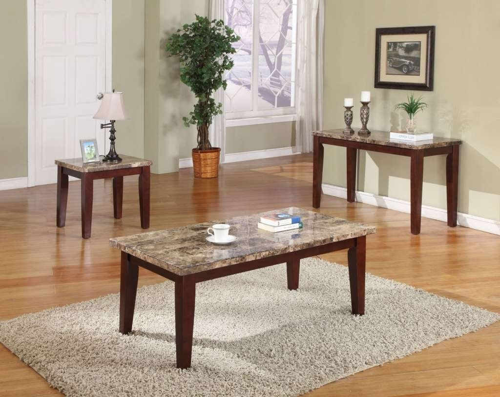Most Current Coffee Tables And Side Table Sets With Furniture : Black Coffee Table Sets Black Side Table Glass Coffee (View 11 of 20)