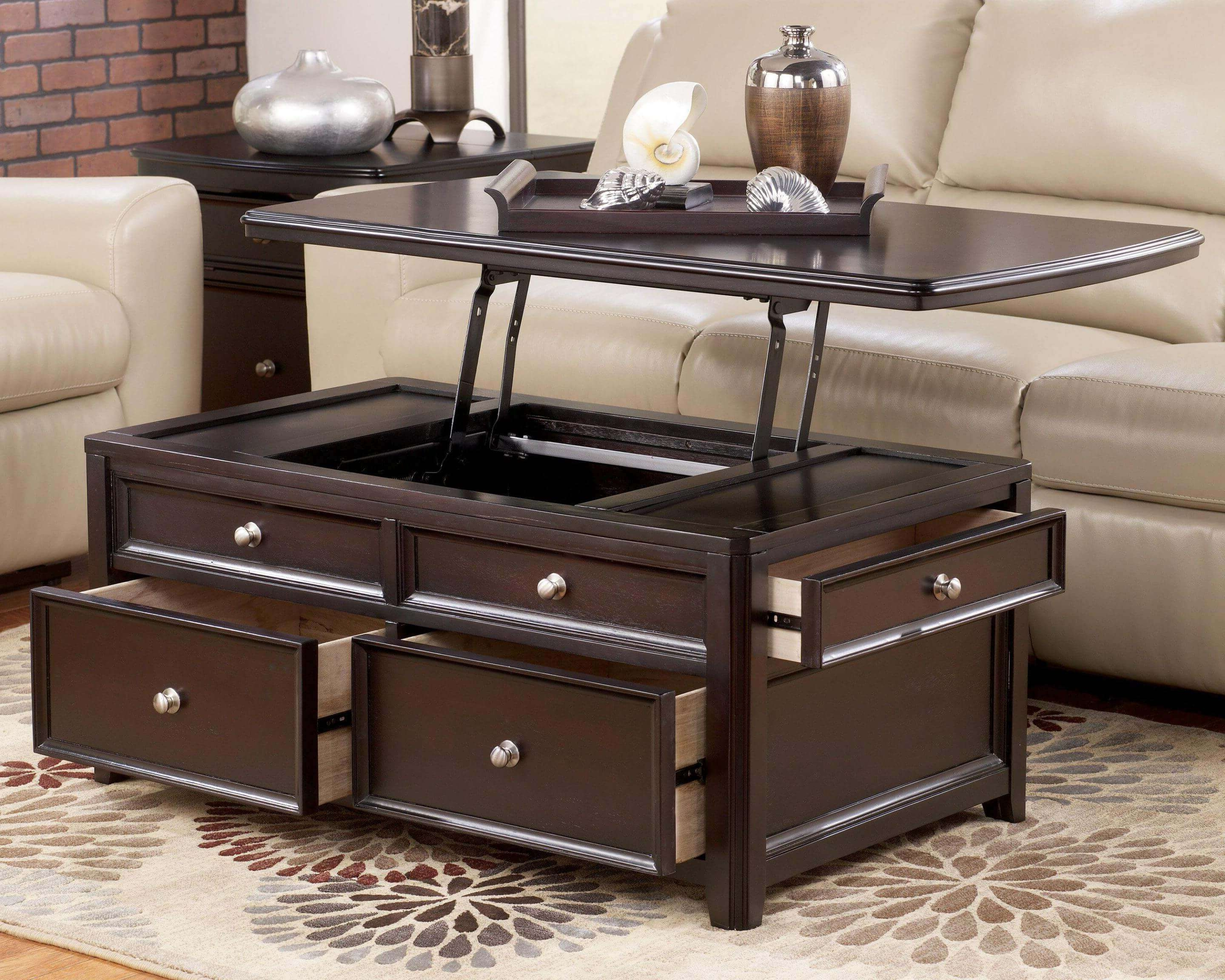 Most Current Coffee Tables With Lift Top And Storage For Coffee Tables : Lift Top Coffee Table With Storage Flip — Office (View 4 of 20)