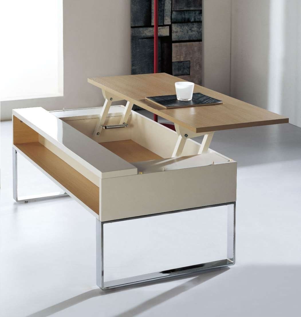 Most Current Desk Coffee Tables Inside Lifting Coffee Table (View 13 of 20)