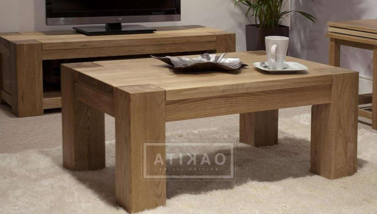 Most Current Large Oak Coffee Tables Pertaining To St Ives Large Oak Coffee Table – Oak Coffee Tables – Oak Furniture (View 13 of 20)