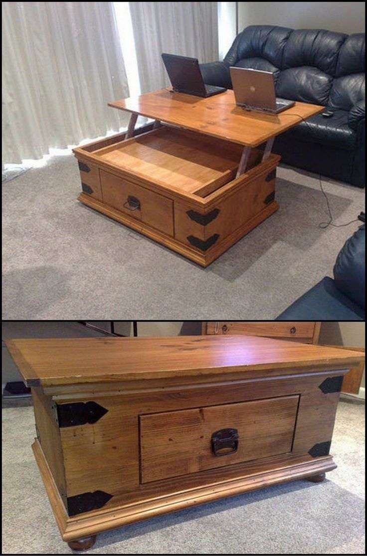 Most Current Rising Coffee Tables With Coffee Table : Coffee Table New Rising Designs With Plans (View 10 of 20)