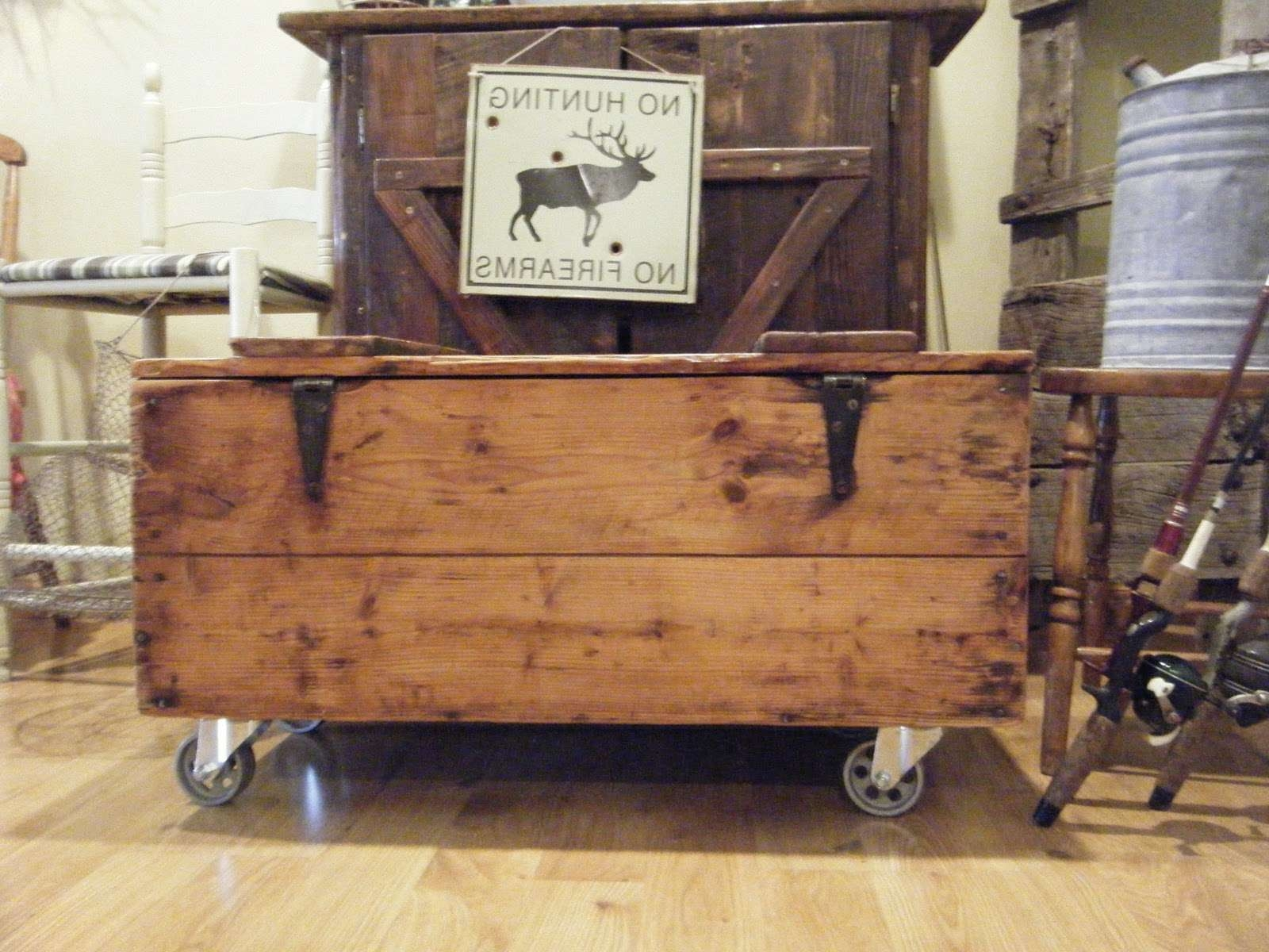 Most Current Rustic Coffee Table With Wheels With Make A Rustic Coffee Table With Wheels — Home Design Ideas (View 14 of 20)