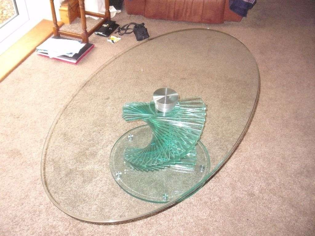 Most Current Spiral Glass Coffee Table With Regard To Spiral Glass Coffee Table / Coffee Tables / Thippo (View 8 of 20)
