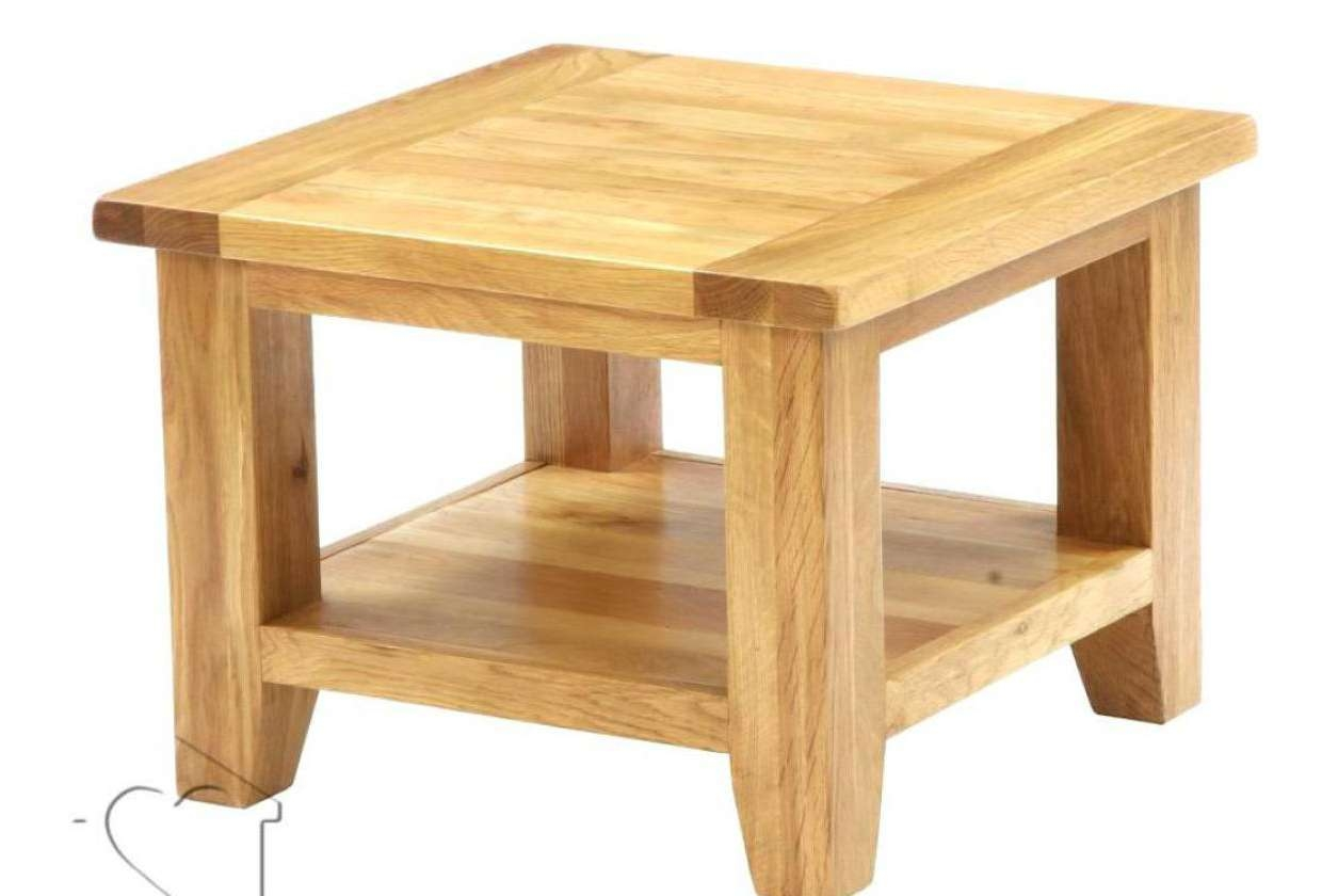Most Current Square Oak Coffee Tables Throughout Coffee Table : Amusing Low Square Oak Coffee Tables Suitable Dark (View 11 of 20)