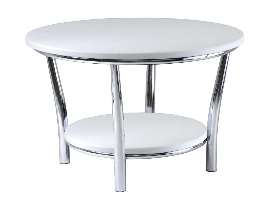 Most Current White Circle Coffee Tables Regarding White Round Coffee Table Modern Asian Large Stupendous Photo (View 12 of 20)
