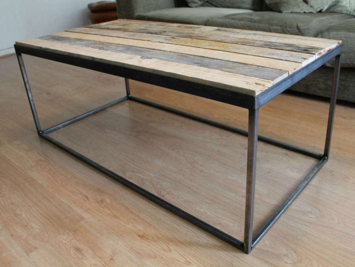 Most Current Wood And Steel Coffee Table With Regard To Coffee Table, Steel And Wood Coffee Table Amazon Stainless Steel (View 9 of 20)