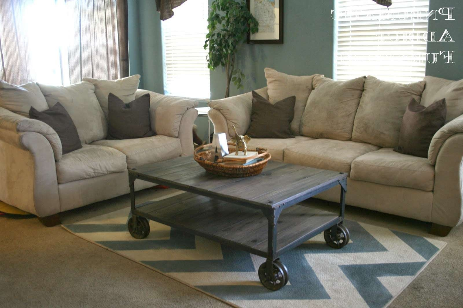 "Most Popular Aiden Coffee Tables Within Pneumatic Addict : World Market ""aiden"" Coffee Table Knock Off (View 13 of 20)"