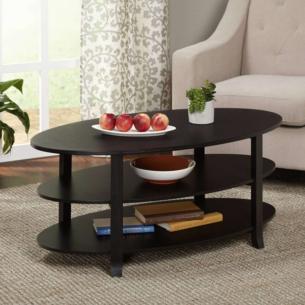 Most Popular Black Coffee Tables With Storage With Coffee Table : Fearsome Black Coffee Table Images Inspirations (View 18 of 20)