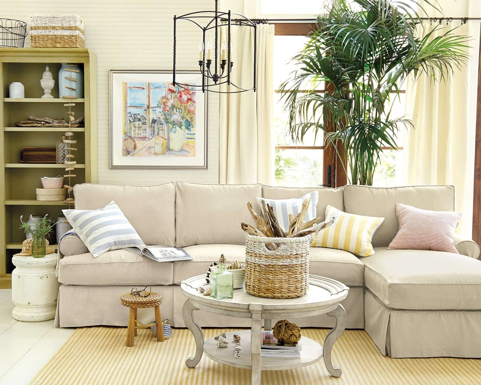 Most Popular Coffee Table For Sectional Sofa With Regard To How To Match A Coffee Table To Your Sectional – How To Decorate (View 3 of 20)