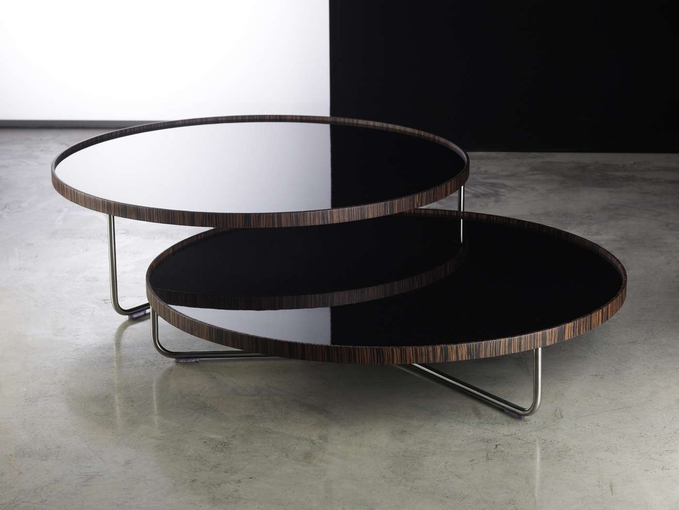 Most Popular Lacquer Coffee Tables Throughout Adelphi Nesting Coffee Table Setmodloft (View 10 of 20)