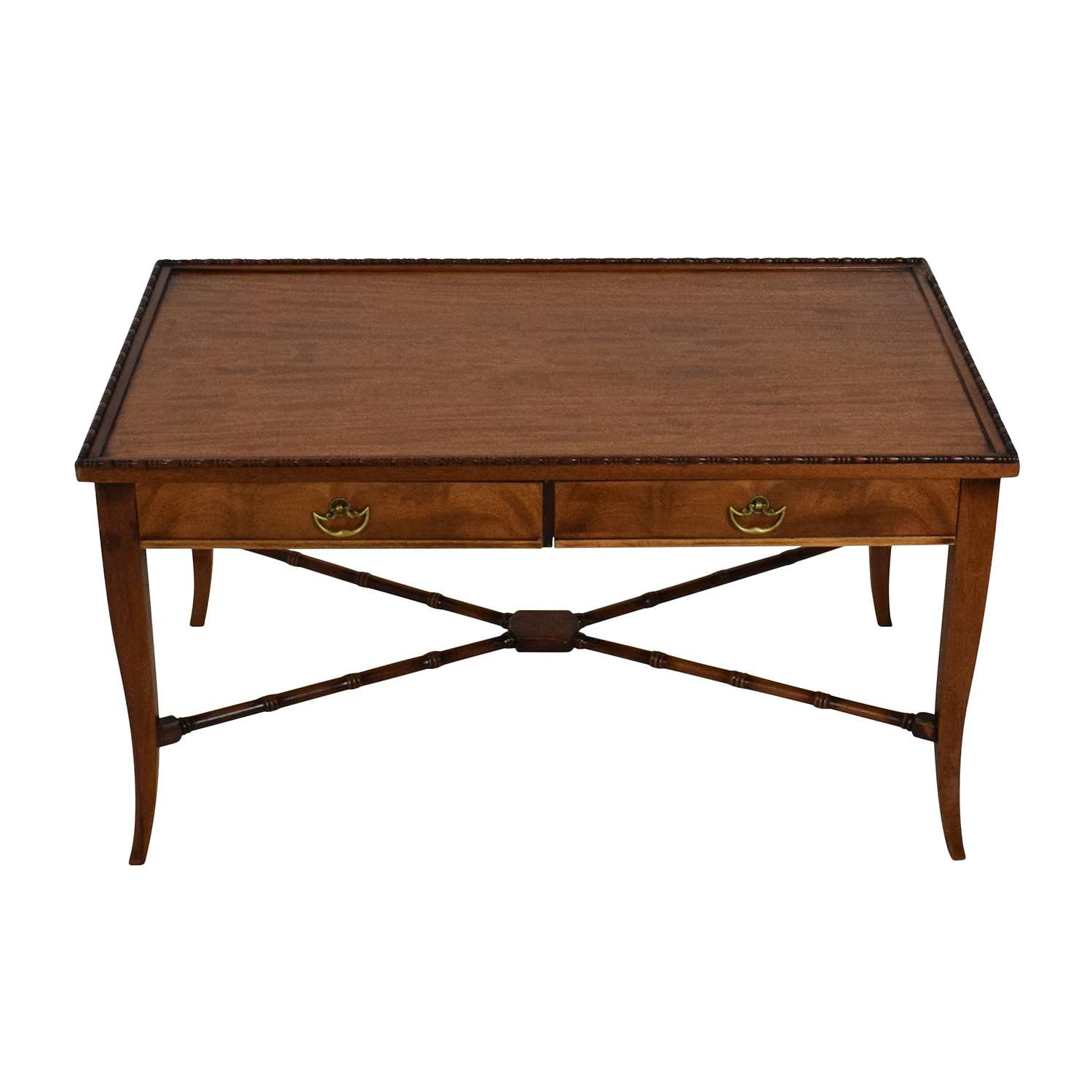 [%Most Popular Mahogany Coffee Tables Pertaining To 51% Off – Imperial Grand Rapids Imperial Grand Rapids Mahogany|51% Off – Imperial Grand Rapids Imperial Grand Rapids Mahogany For Latest Mahogany Coffee Tables%] (View 1 of 20)