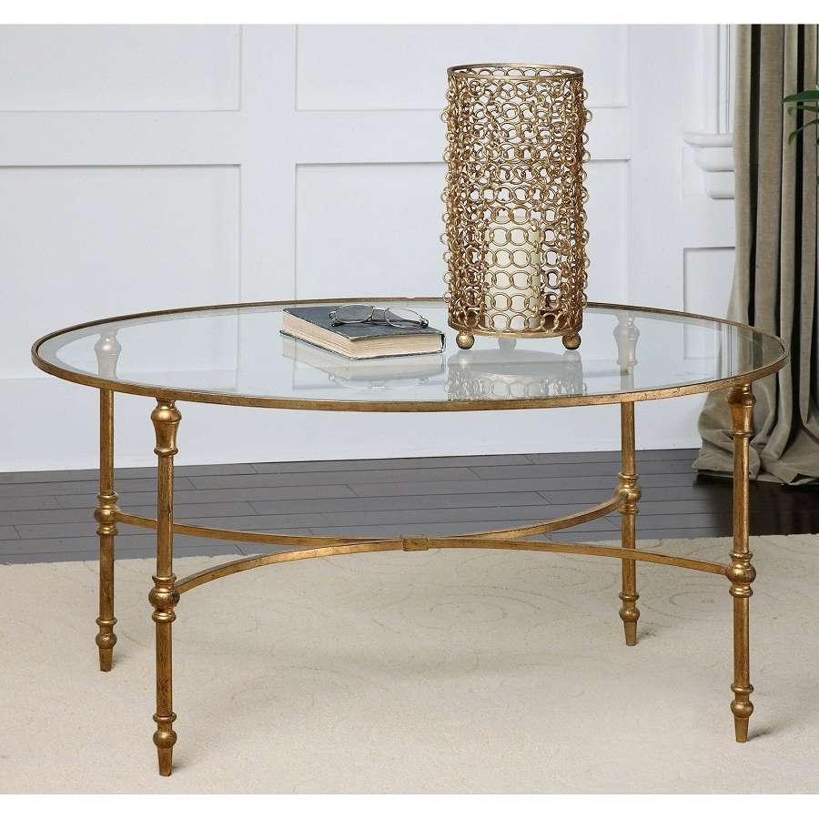 Most Popular Metal Oval Coffee Tables Throughout Fascinating Decor For Oval Coffee Tables (View 11 of 20)