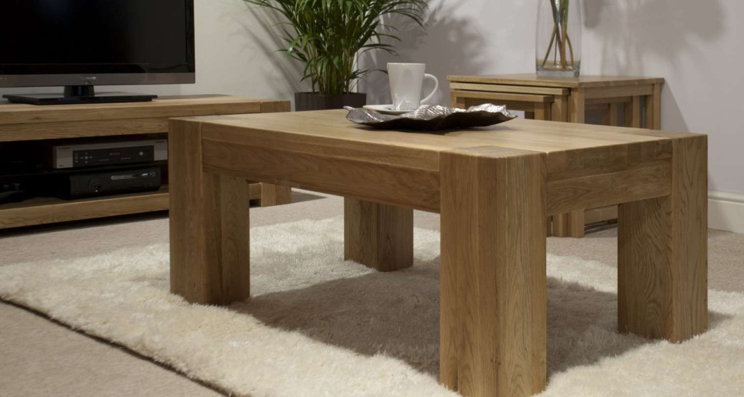 Most Popular Oak Beam Coffee Tables Regarding Coffee Tables : Square Oak Coffee Table Memorable Orly Oak Square (View 11 of 20)