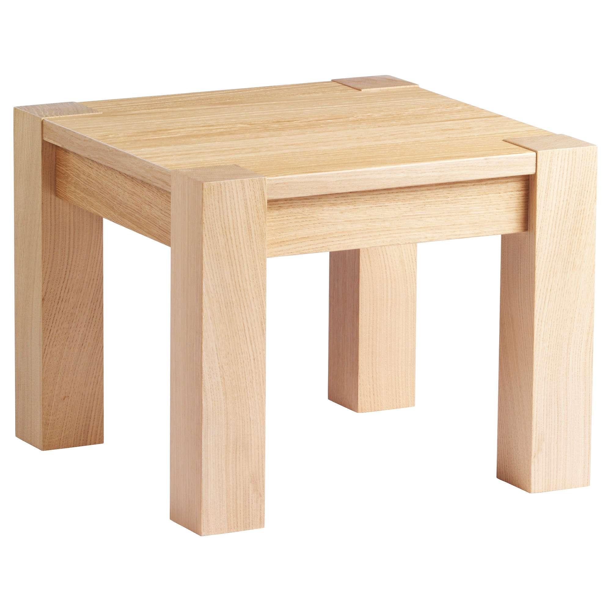 Most Popular Oak Veneer Coffee Tables With Regard To Högsby Coffee Table Oak Veneer 50x50 Cm – Ikea (View 3 of 20)