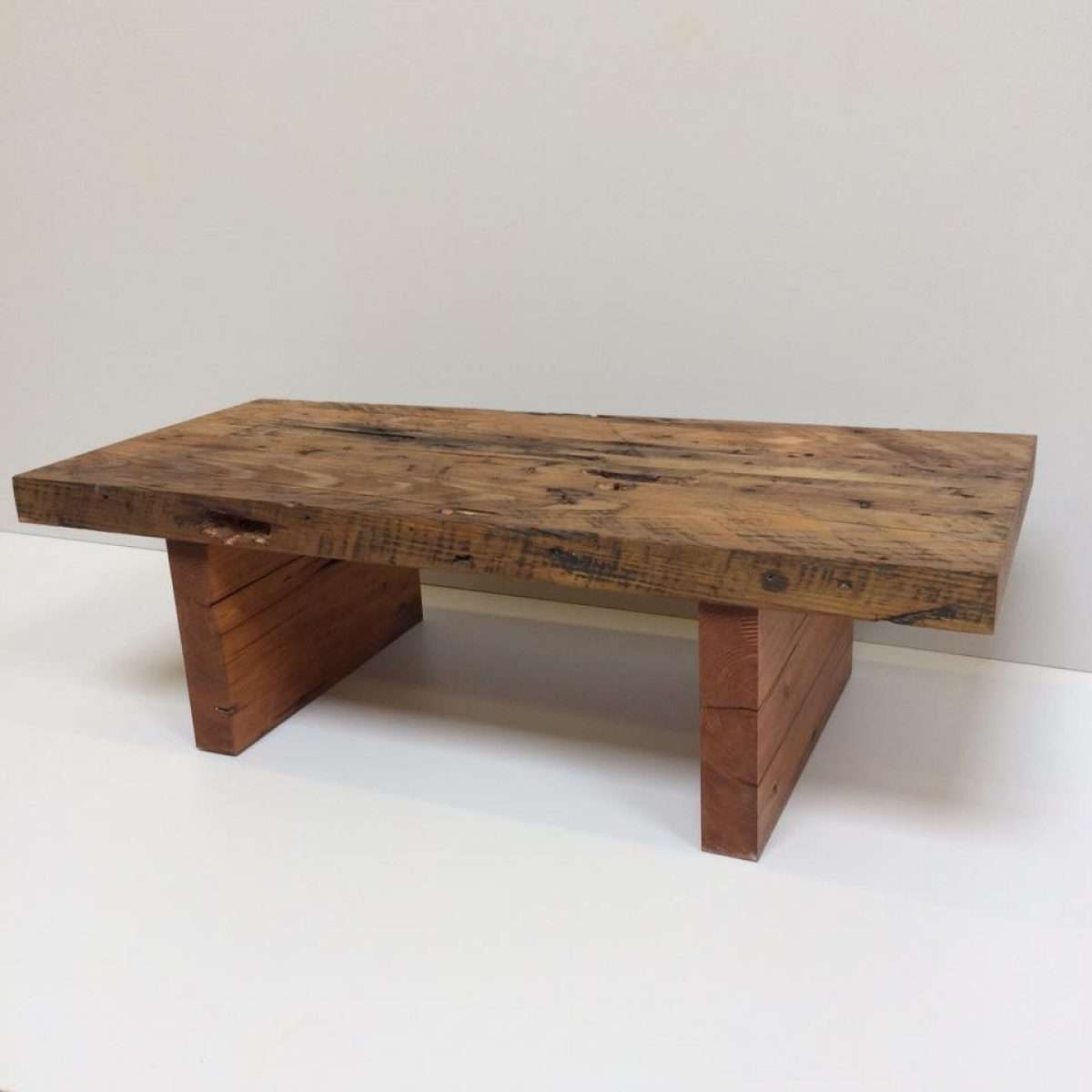 Most Popular Old Pine Coffee Tables Pertaining To Coffee Table Reclaimed Pine Coffee Table Tables Coleman Edwards (View 12 of 20)