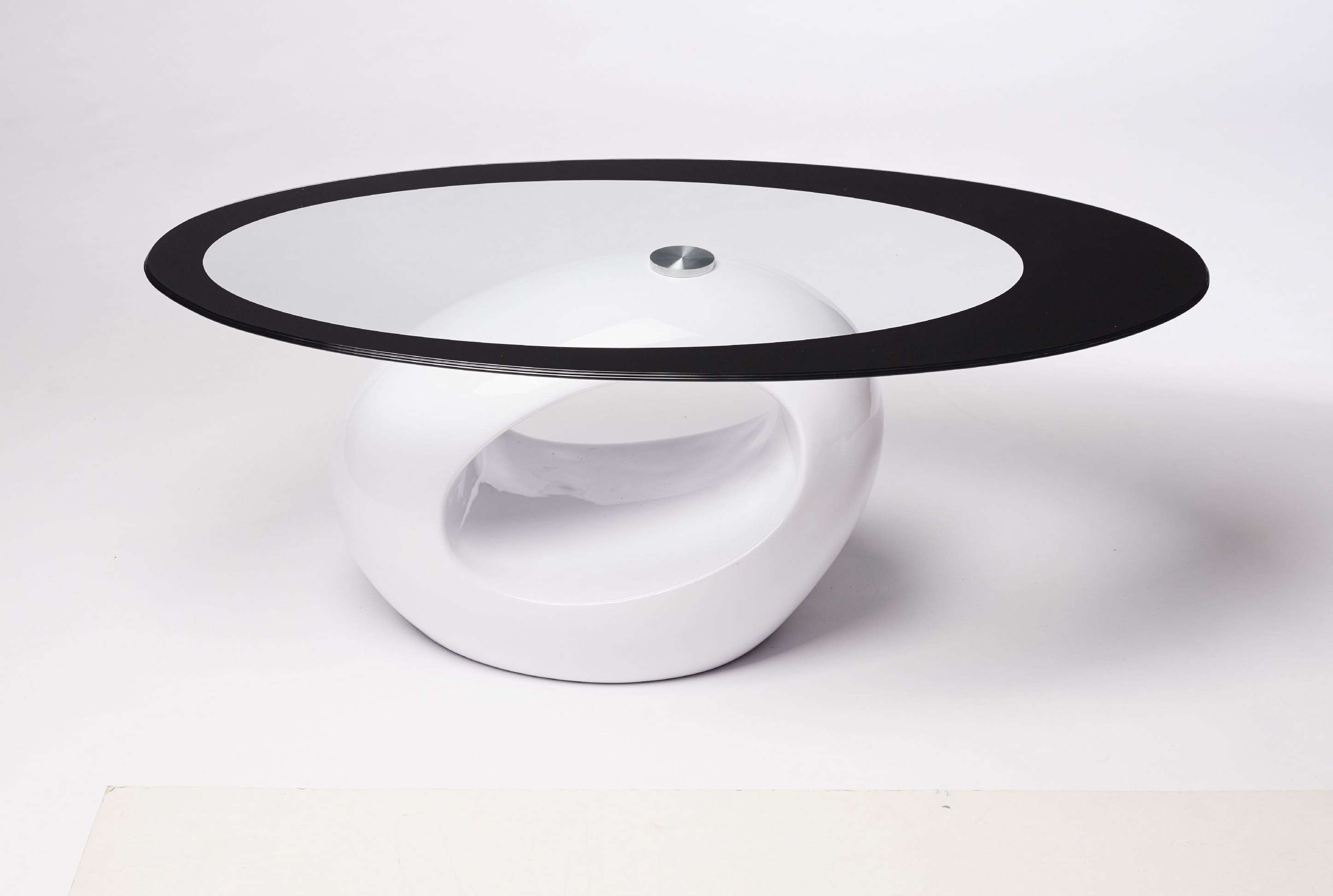 Most Popular Oval Black Glass Coffee Tables Intended For Coffee Tables : Square Glass Coffee Table Brass And End Tables (View 17 of 20)