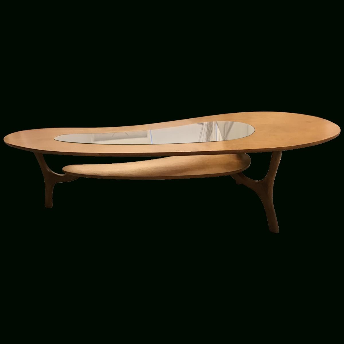 Most Popular Retro Teak Glass Coffee Tables In Viyet – Designer Furniture – Tables – Vintage Danish Modern Teak (View 9 of 20)