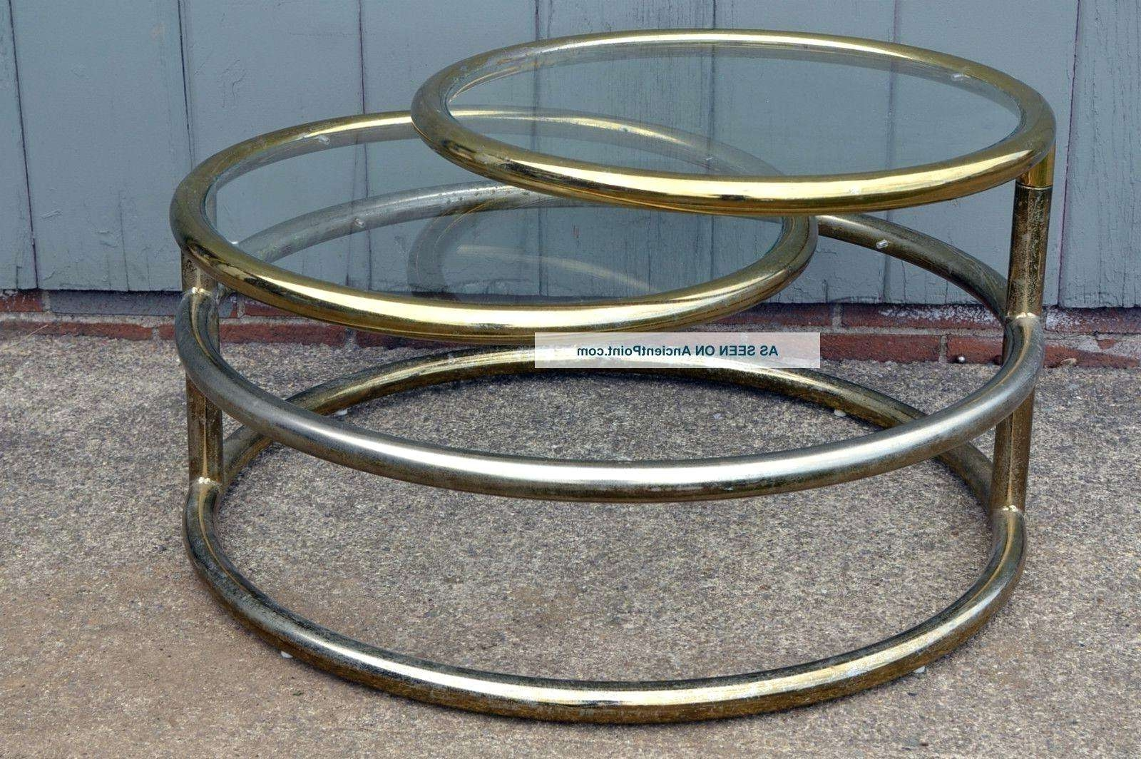 Most Popular Revolving Glass Coffee Tables Regarding Articles With Rotating Round Coffee Table Tag: Revolving Glass (View 16 of 20)