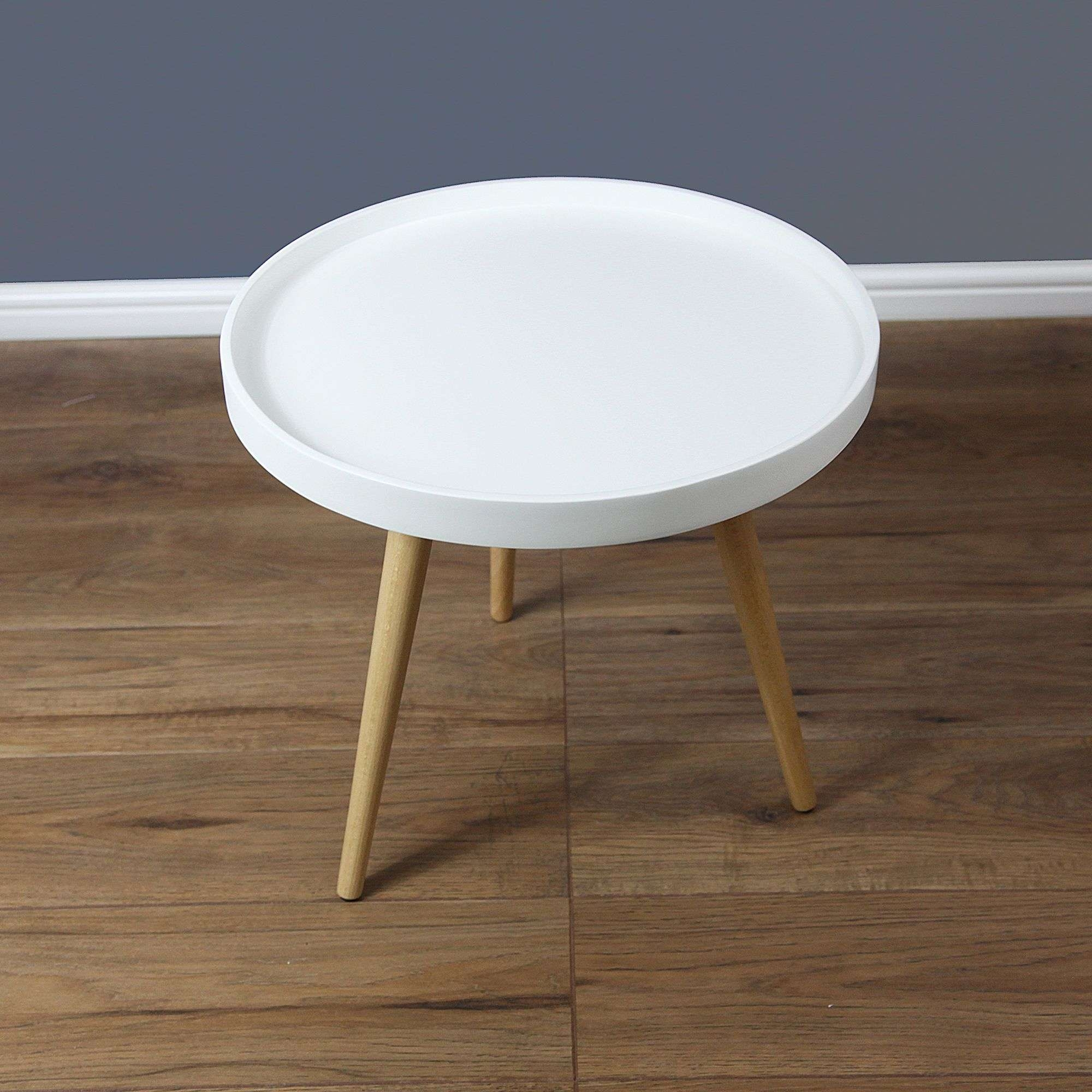 Most Popular Round Beech Coffee Tables With Coffee Tables : Round White Coffee Table Tables Console Ikea (View 11 of 20)