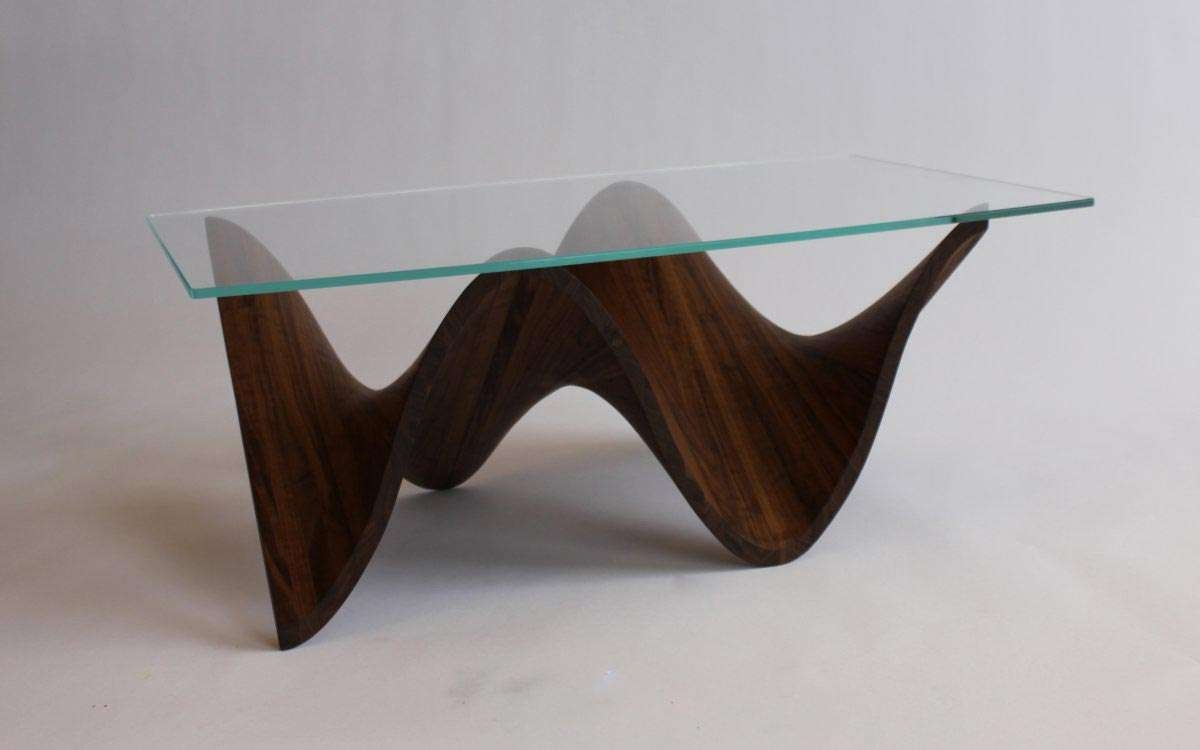 Most Popular Round Wood And Glass Coffee Tables With Regard To Glass Wood Table Round Glass Coffee Table Wood Base Unique Coffee (View 11 of 20)