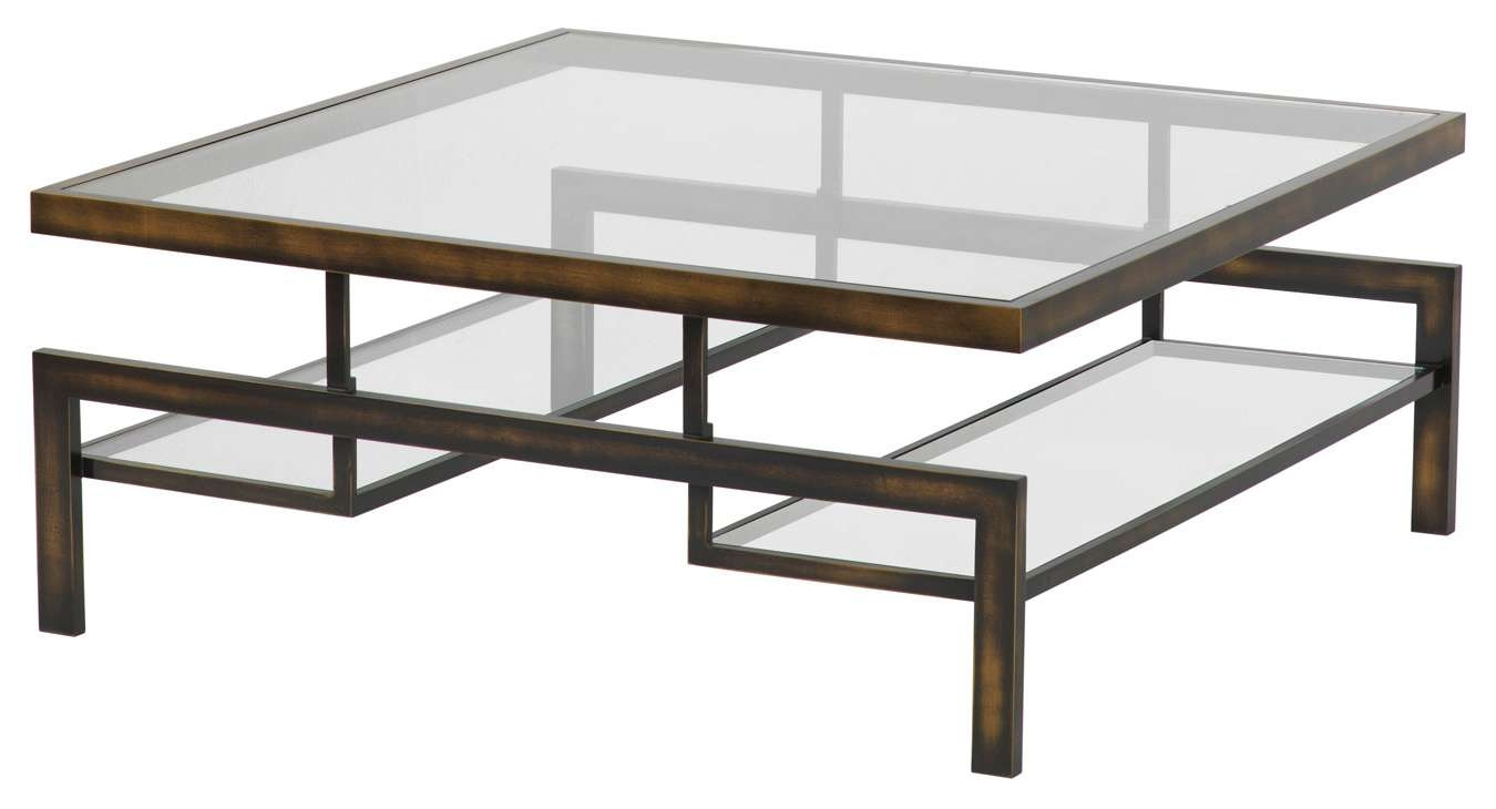 Most Popular Steel And Glass Coffee Tables Regarding Classy Steel Glass Coffee Table About Home Decoration Ideas (View 14 of 20)