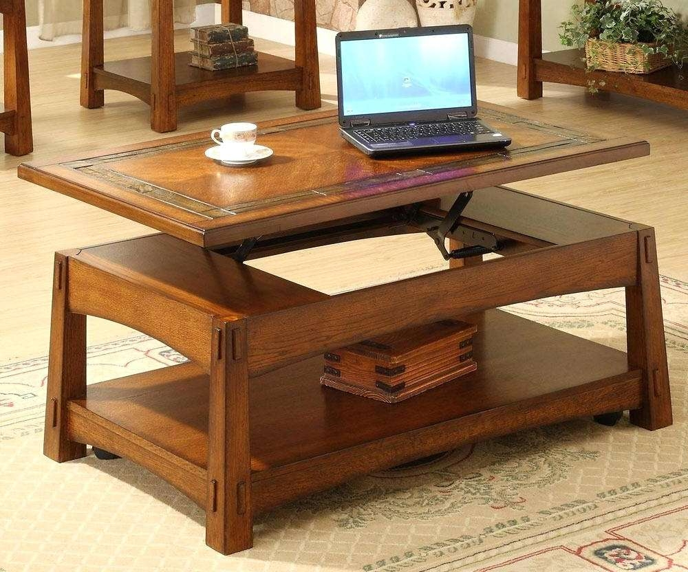 Superb Most Popular Swing Up Coffee Tables Intended For Coffee Table : Swing Up  Coffee Table Full