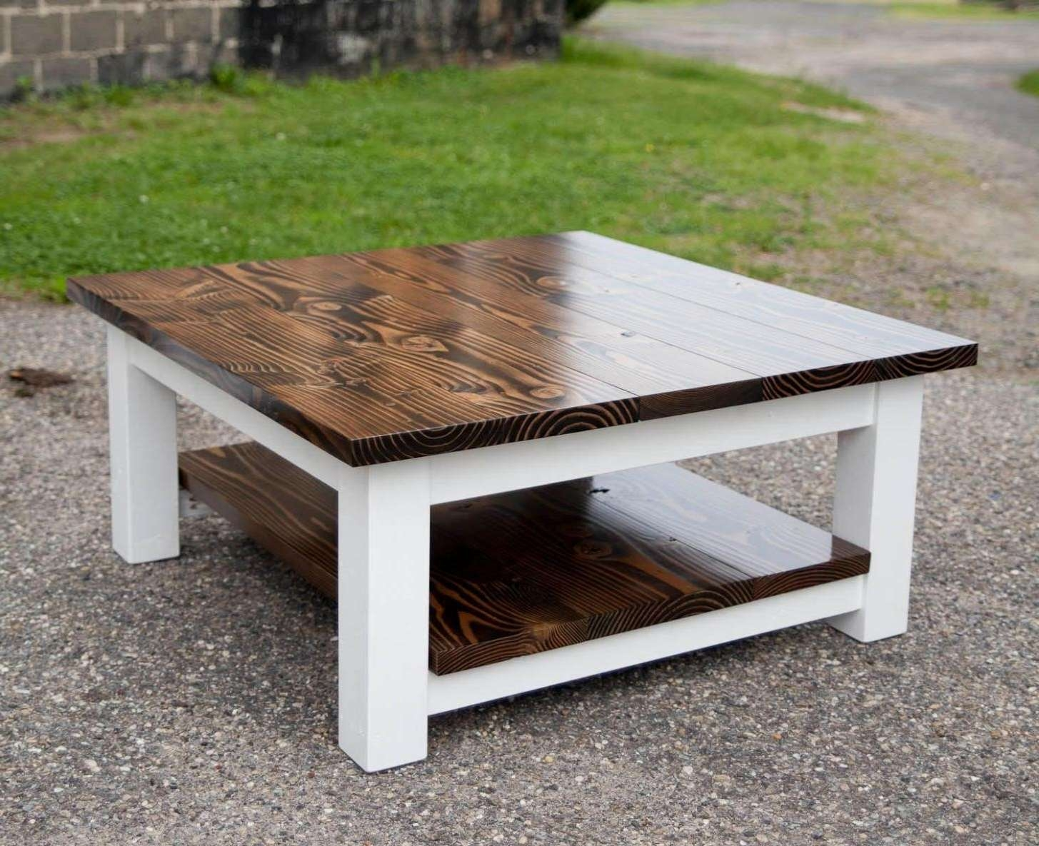 Most Popular White And Brown Coffee Tables For White And Brown Coffee Table (View 11 of 20)