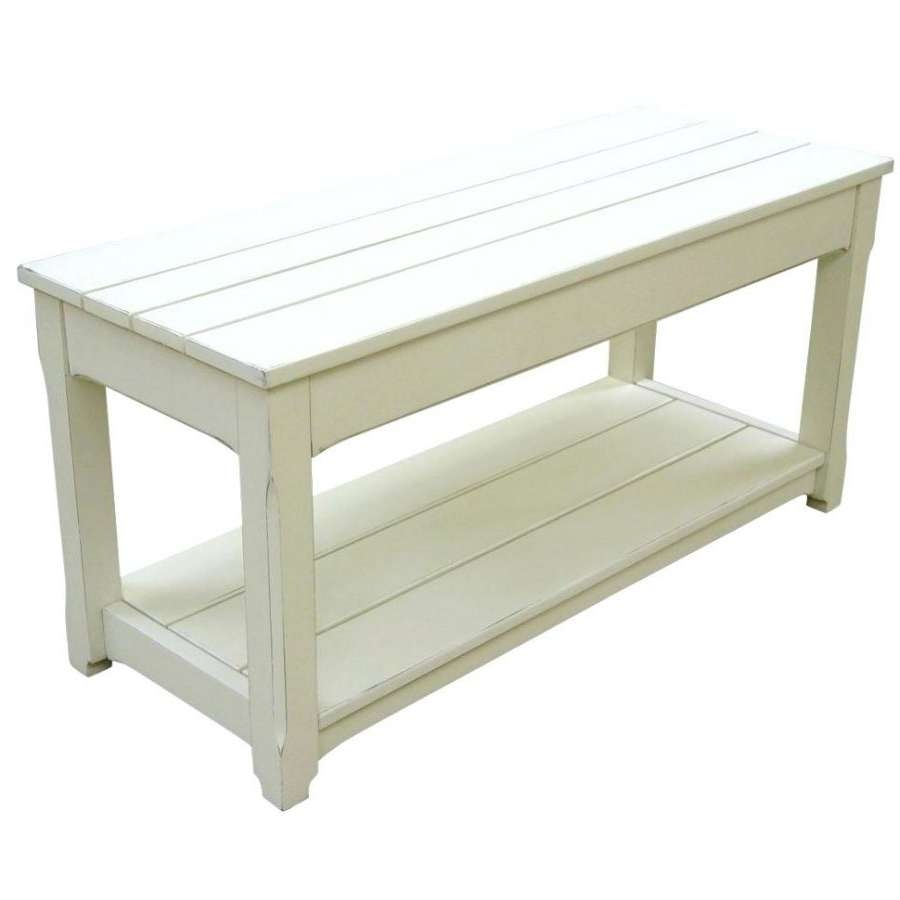 Most Popular White Cottage Style Coffee Tables With Regard To Coffee Tables : Cottage Style Coffee Table Tableswhite Cream (View 13 of 20)