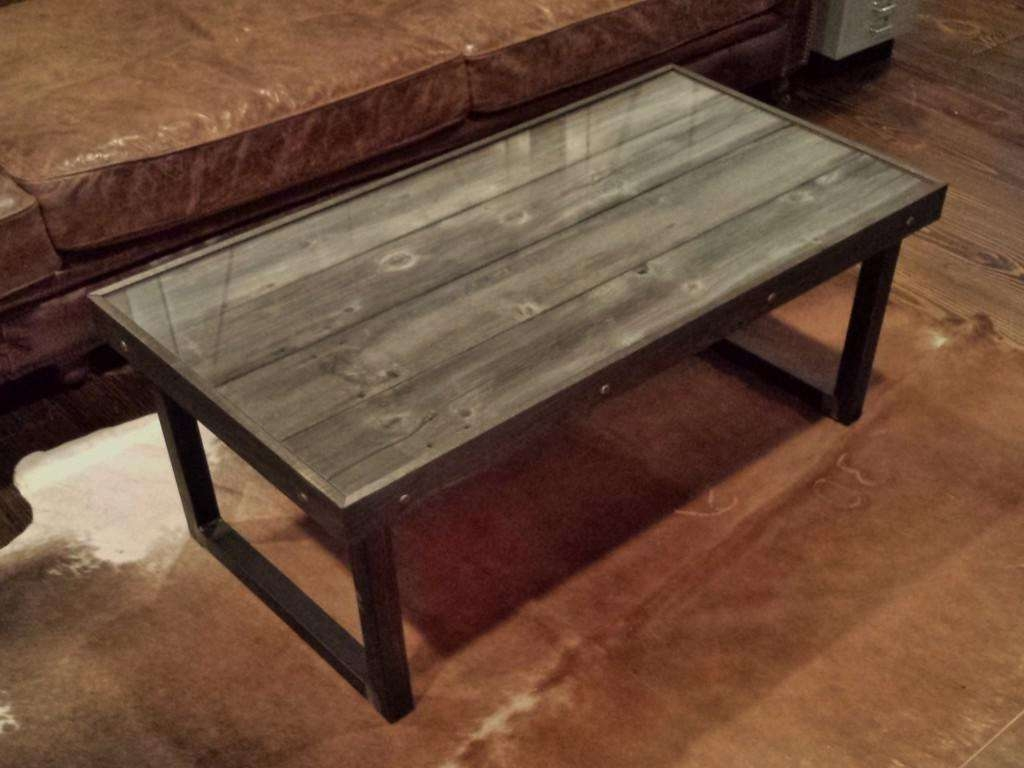 Most Popular Wood And Steel Coffee Table Pertaining To Coffee Tables : Wood And Metal Coffee Table Inspirational (View 10 of 20)