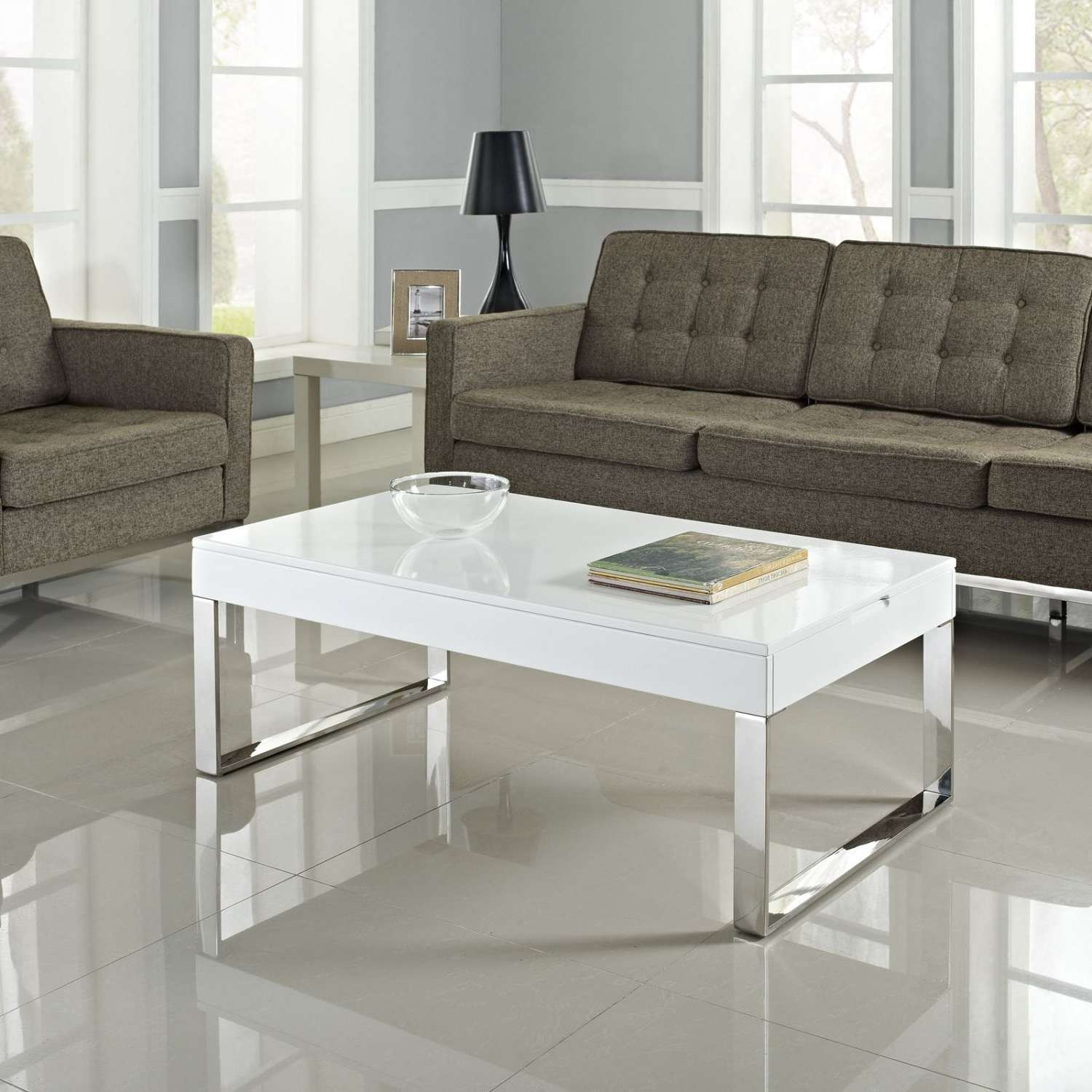 Most Recent Coffee Tables White High Gloss Within White Gloss Lift Coffee Table – All Furniture Usa (View 7 of 20)