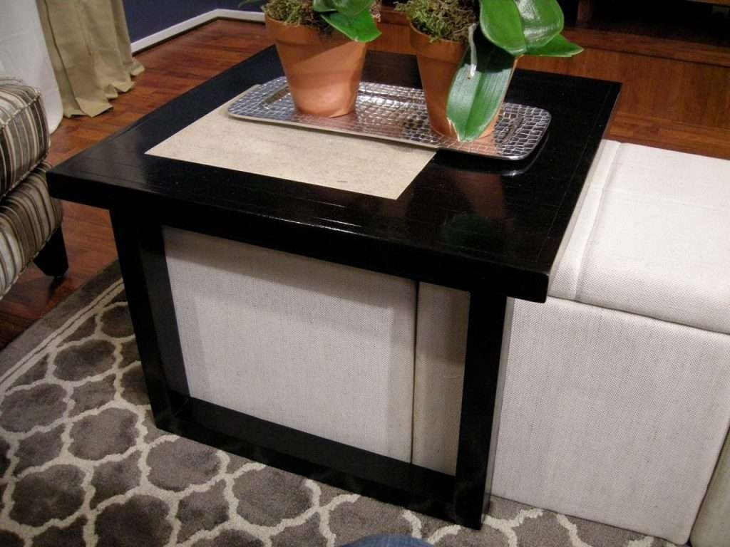 Most Recent Coffee Tables With Basket Storage Underneath With Coffee Table : Under Coffee Table Storage Baskets Rascalartsnyc (View 10 of 20)