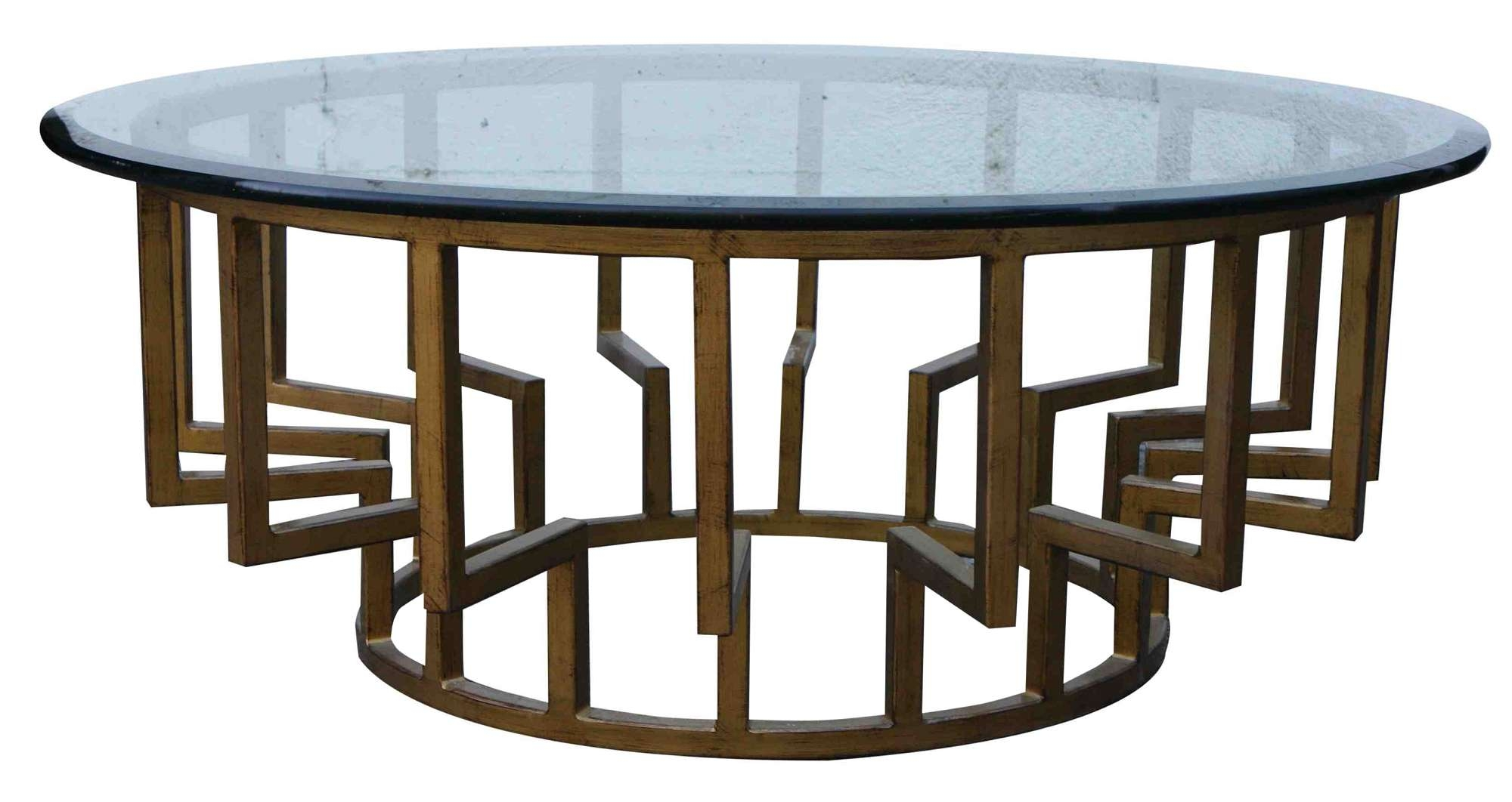 Most Recent Contemporary Round Coffee Tables Intended For Coffee Table: Contemporary Round Coffee Table Contemporary Square (View 15 of 20)