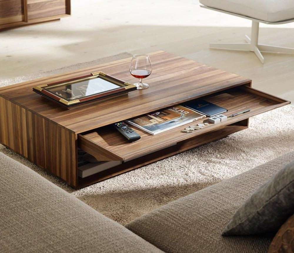 Most Recent Dark Brown Coffee Tables Pertaining To Living Room Without Coffee Table Dark Brown Wooden Square Coffee (View 20 of 20)