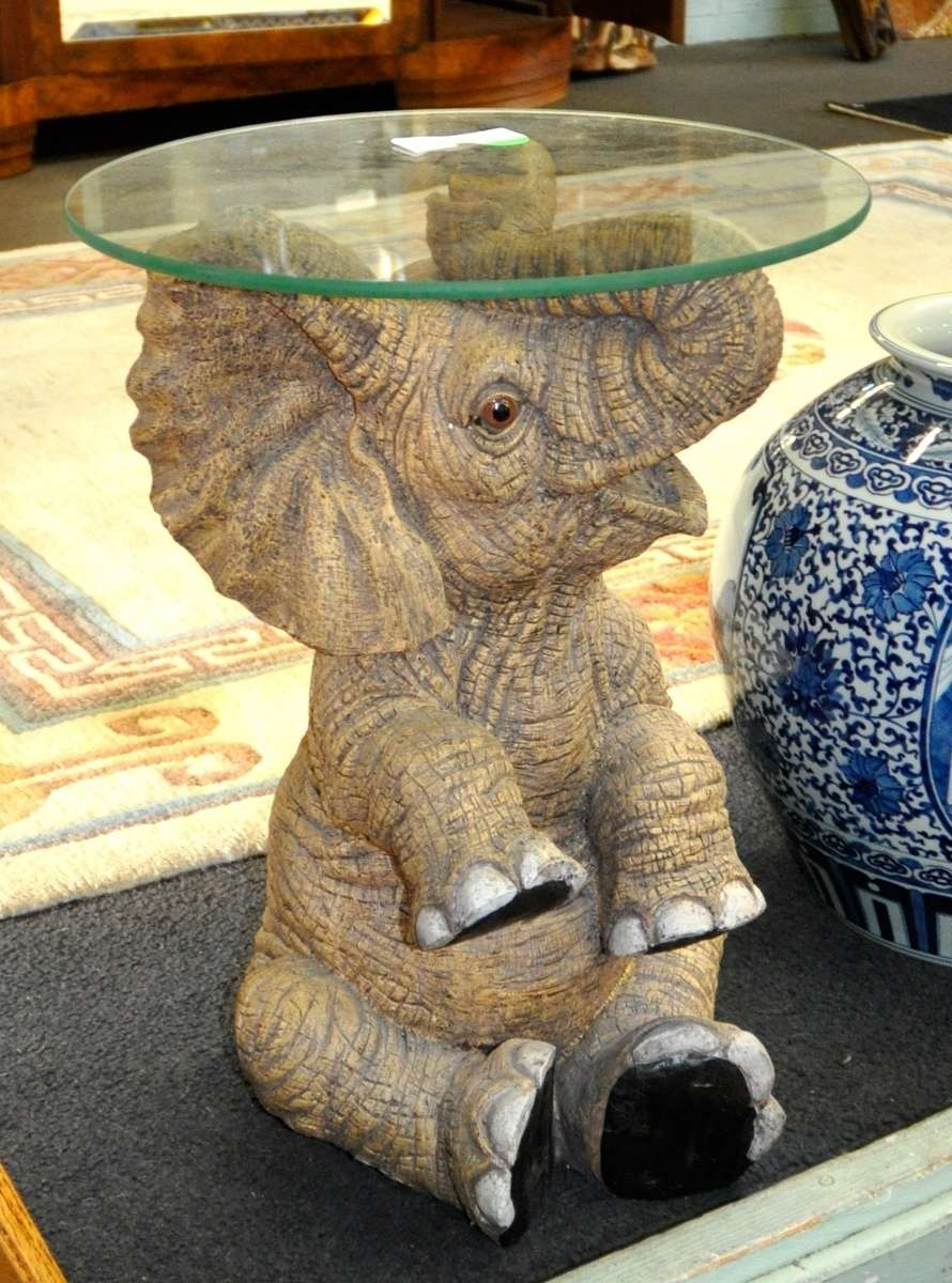 Most Recent Elephant Glass Top Coffee Tables In Elephant Coffee Table Glass Top – Coffeetable (View 14 of 20)