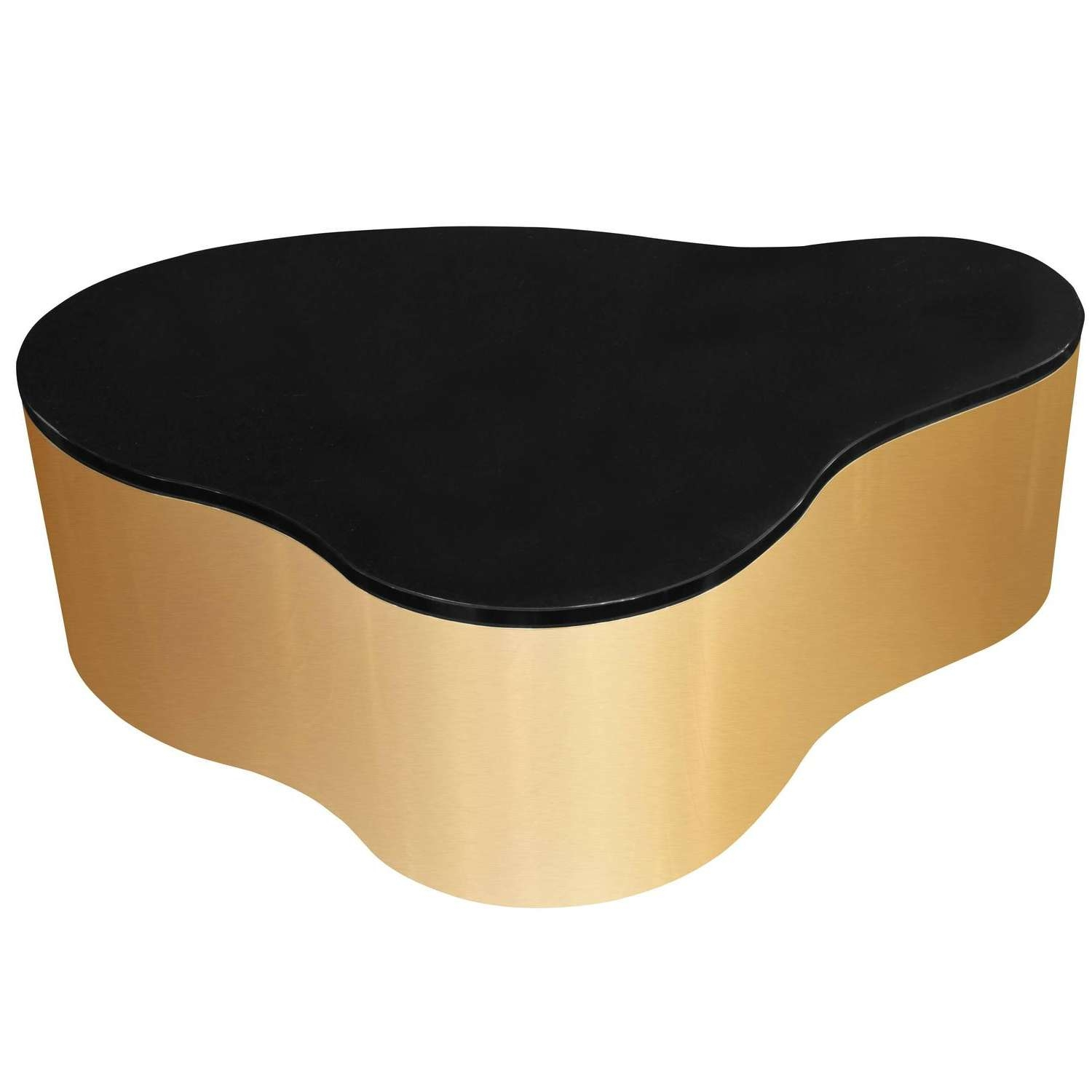 """Most Recent Free Form Coffee Tables With Regard To Free Form Coffee Table"""" In Seamlessly Welded Solid Brasskarl (View 15 of 20)"""