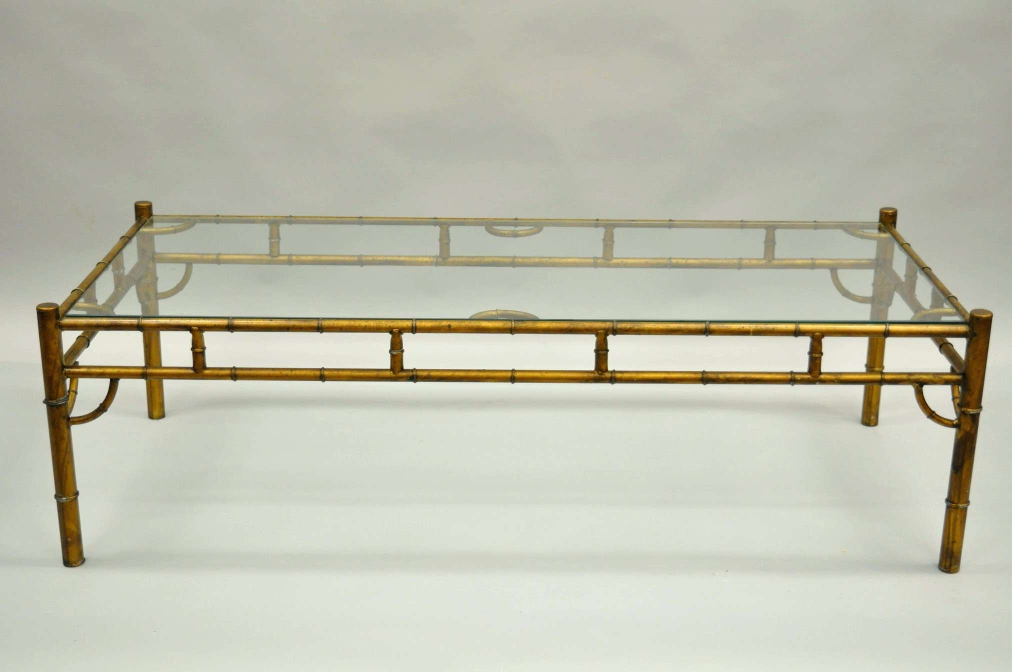 Most Recent Gold Bamboo Coffee Tables Inside Gold Bamboo Glass Coffee Table Fresh Coffee Tables Shocking Bamboo (View 11 of 20)