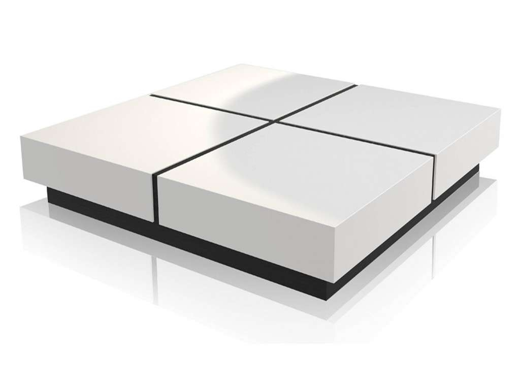 Most Recent Large Low White Coffee Tables Pertaining To Black Square Coffee Table Luxury 30 Best Ideas Of Large Low White (View 4 of 20)
