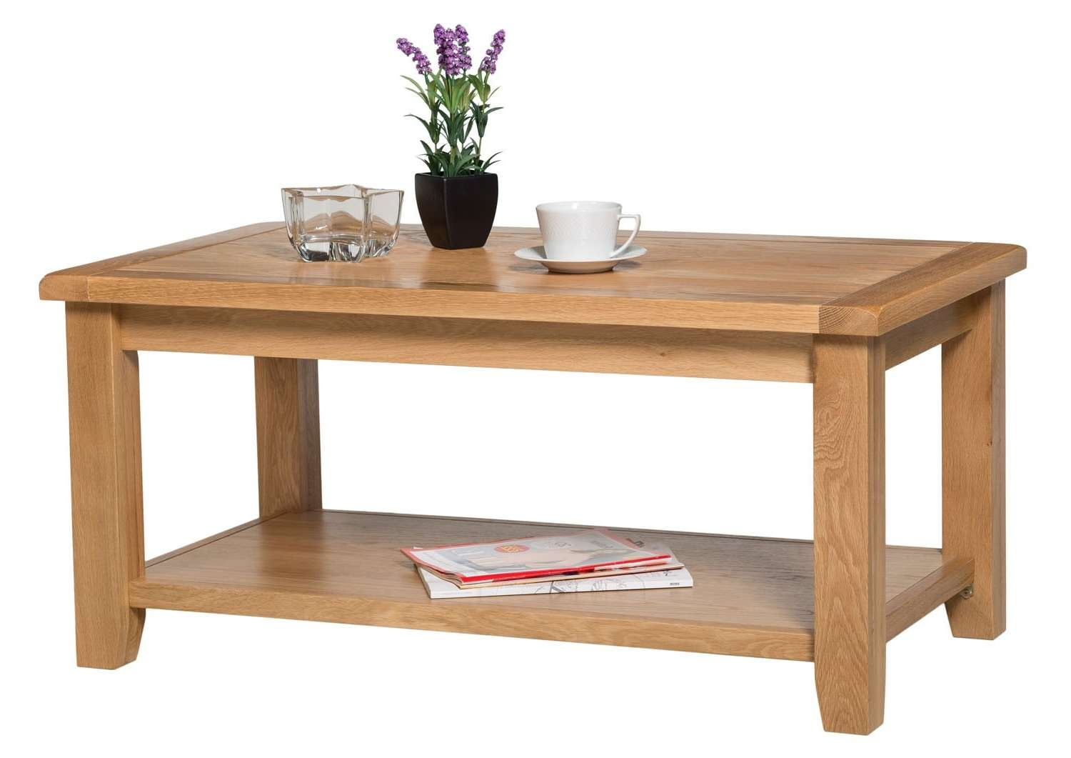 Most Recent Light Oak Coffee Tables Pertaining To Monchique Oak Coffee Table (View 8 of 20)