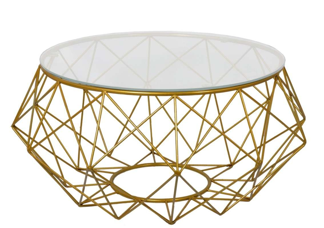 Most Recent Mands Coffee Tables Pertaining To Fashion N You Diamond Wire Coffee Table & Reviews (View 18 of 20)