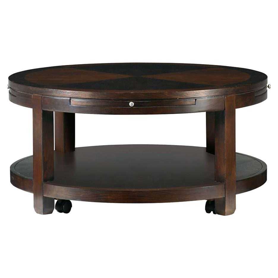 Most Recent Round Coffee Tables With Drawers In Inspiring Ideas For Small Coffee Tables Design (View 10 of 20)