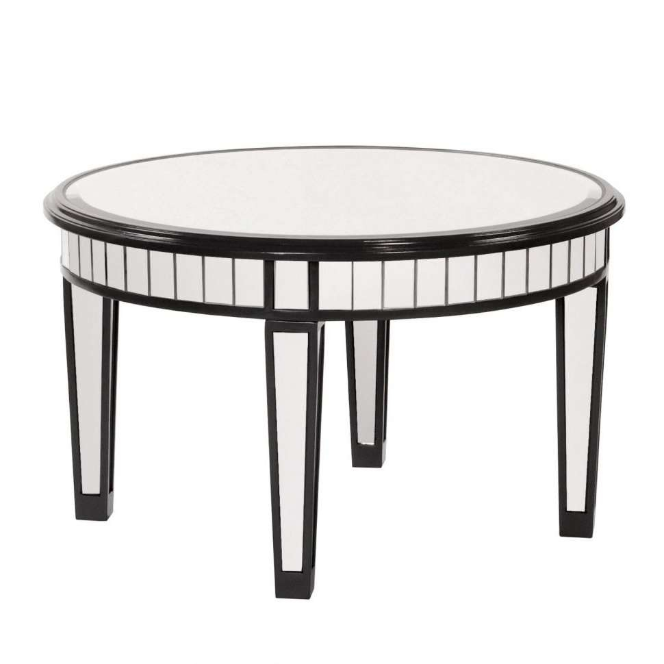Most Recent Round Mirrored Coffee Tables In Coffee Tables : Round Mirrored Coffee Table Uk Circle Designs (View 16 of 20)