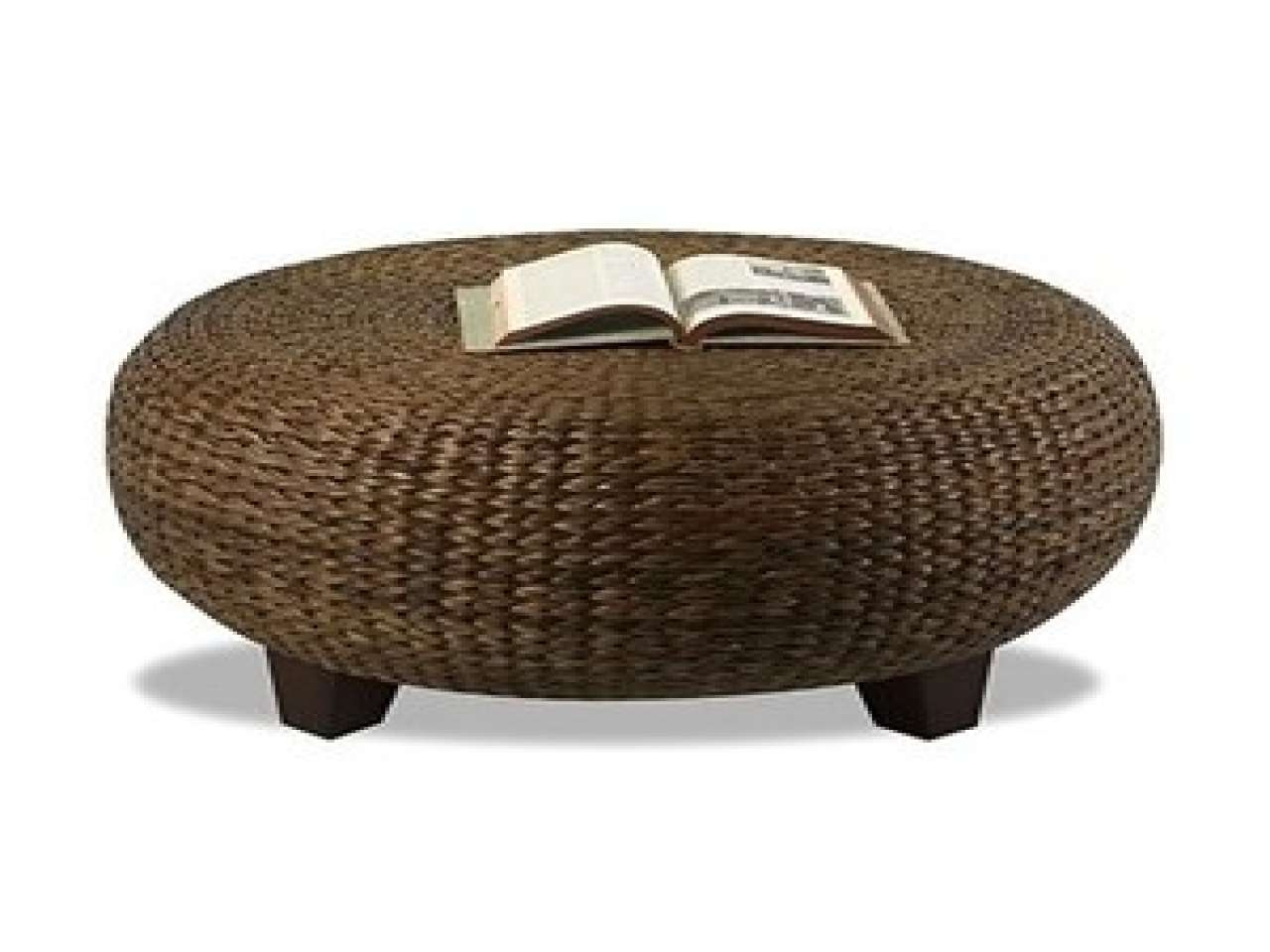 Most Recent Round Woven Coffee Tables Within Incredible Woven Coffee Table  With Woven Coffee Tables Wicker