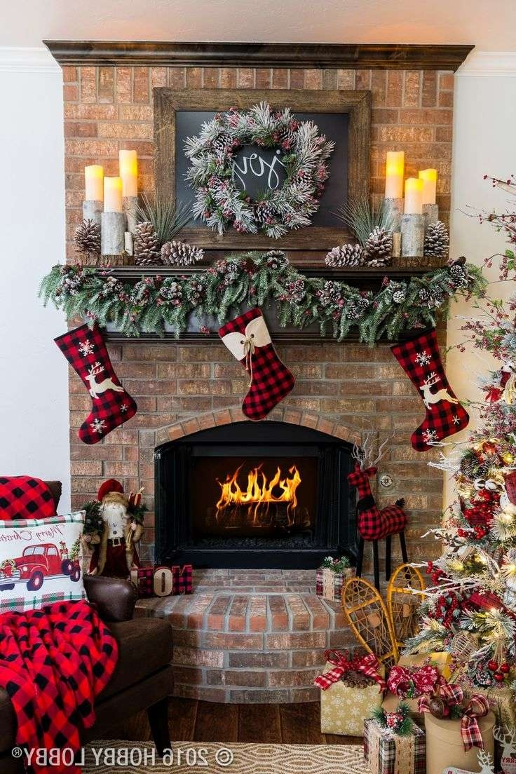 Most Recent Rustic Christmas Coffee Table Decors Regarding Best 25+ Rustic Christmas Decorations Ideas On Pinterest (View 10 of 20)