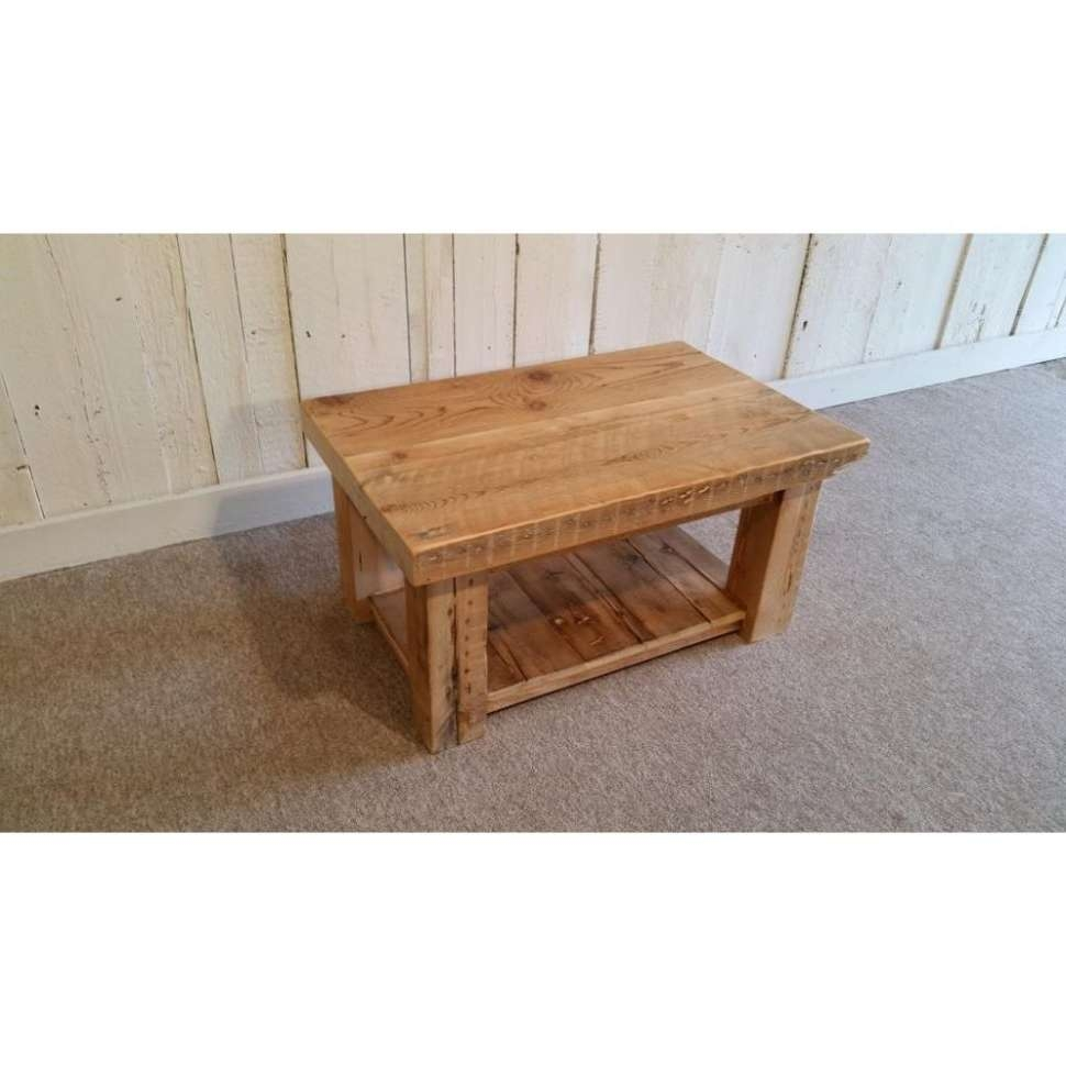 Most Recent Solid Oak Beam Coffee Table In Coffee Table : Amazing Solid Wood Coffee Table Dining Room Tables (View 3 of 20)