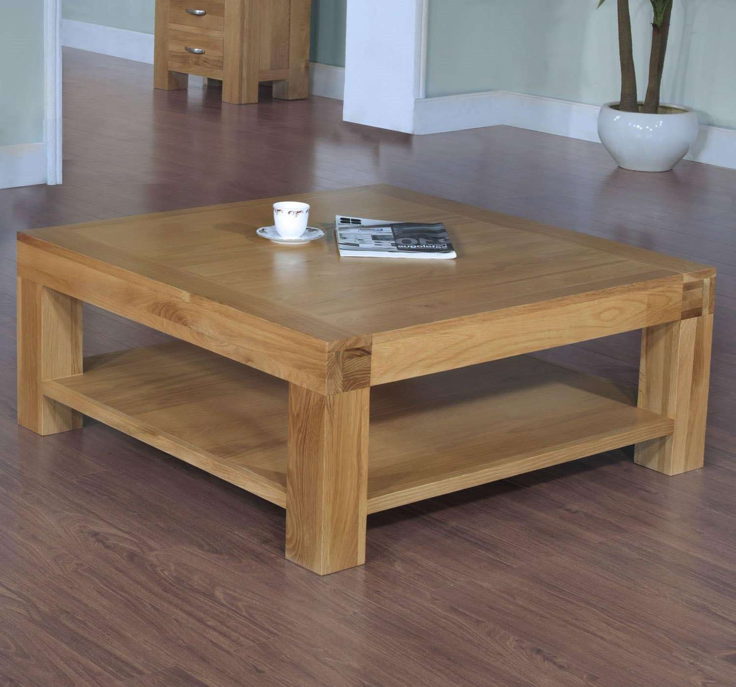 Most Recent Square Pine Coffee Tables With Pine Square Coffee Table (View 3 of 20)
