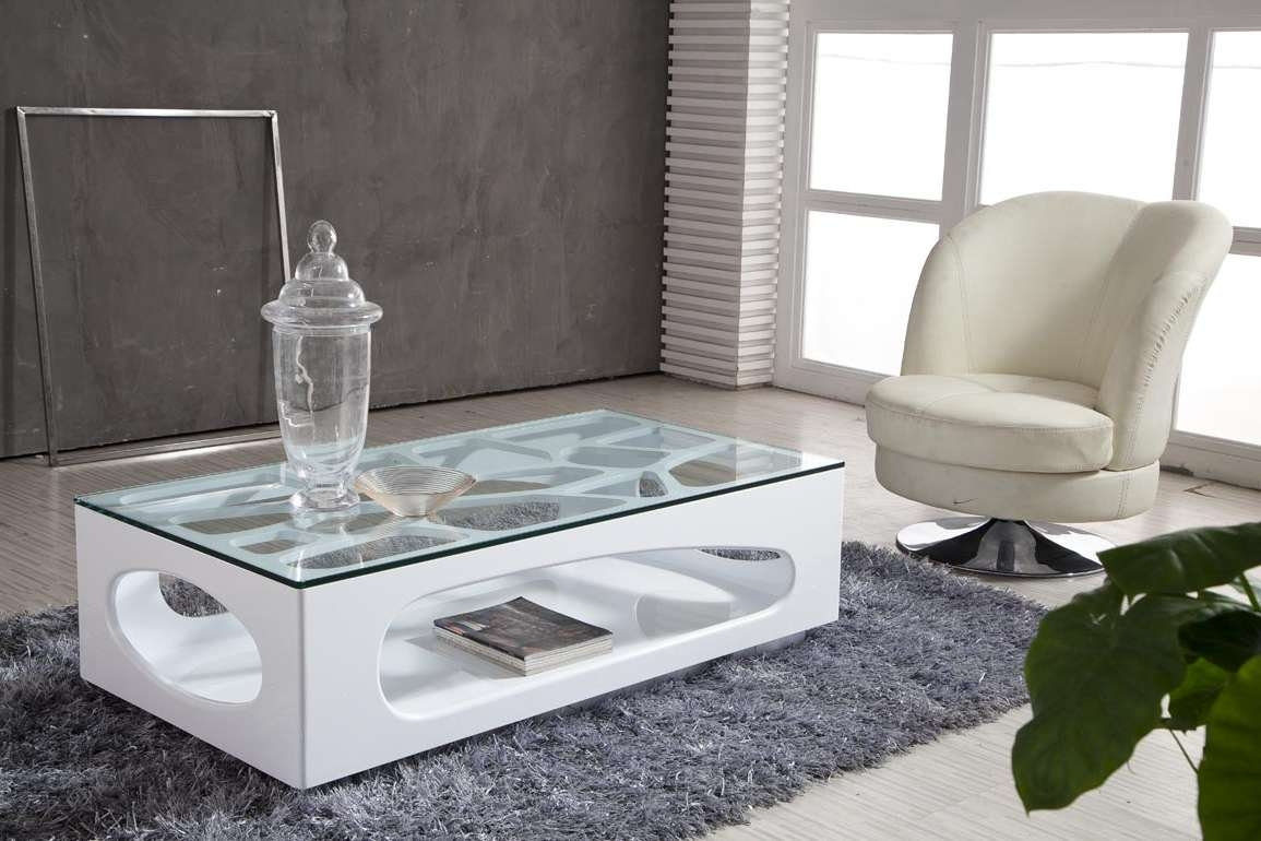 Most Recent White And Glass Coffee Tables Intended For Love Minimalist Home? Get A Modern Glass Coffee Table – Midcityeast (View 15 of 20)
