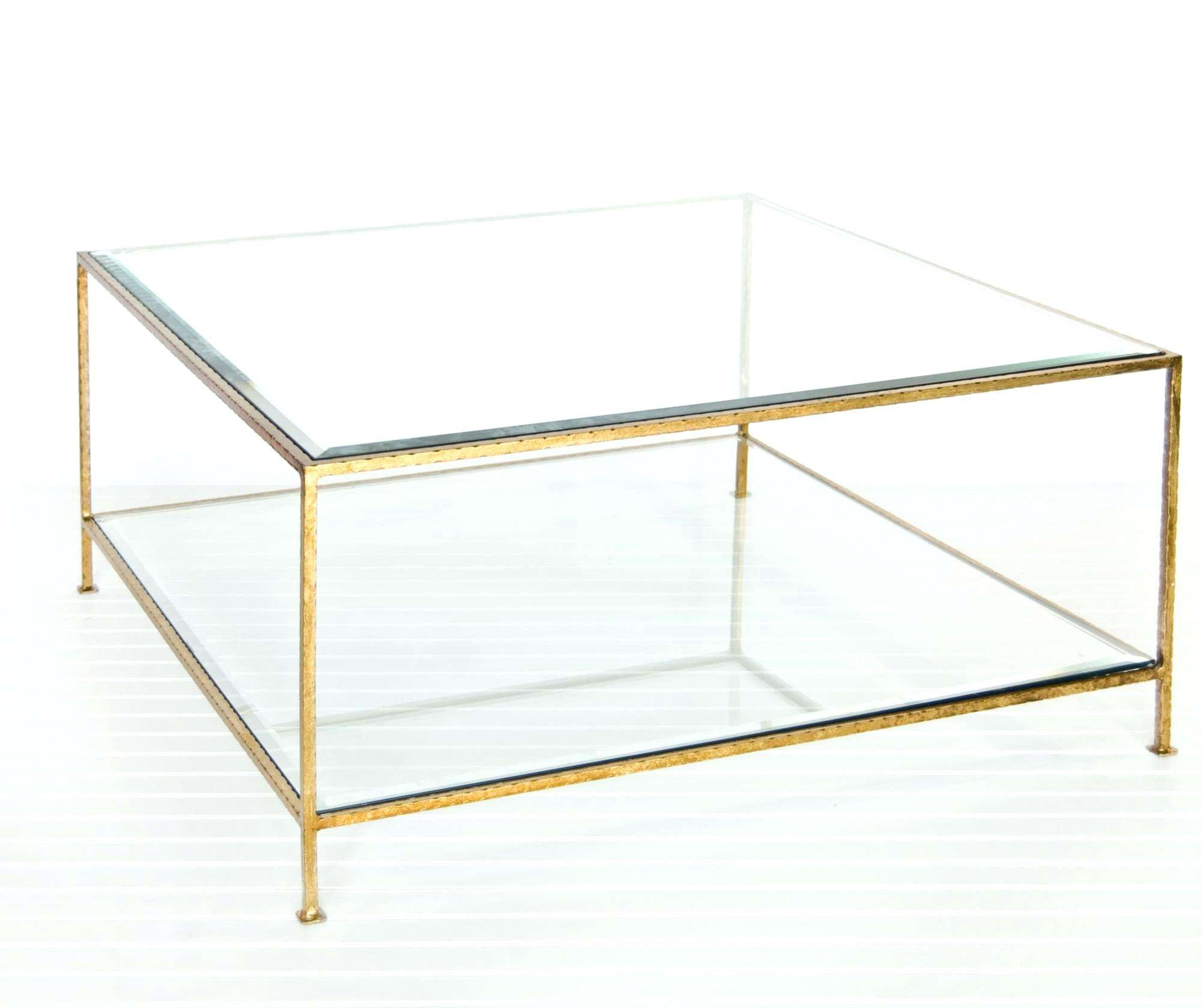 Most Recently Released Bronze And Glass Coffee Tables Inside Coffee Tables  : Gold Glass Coffee Table