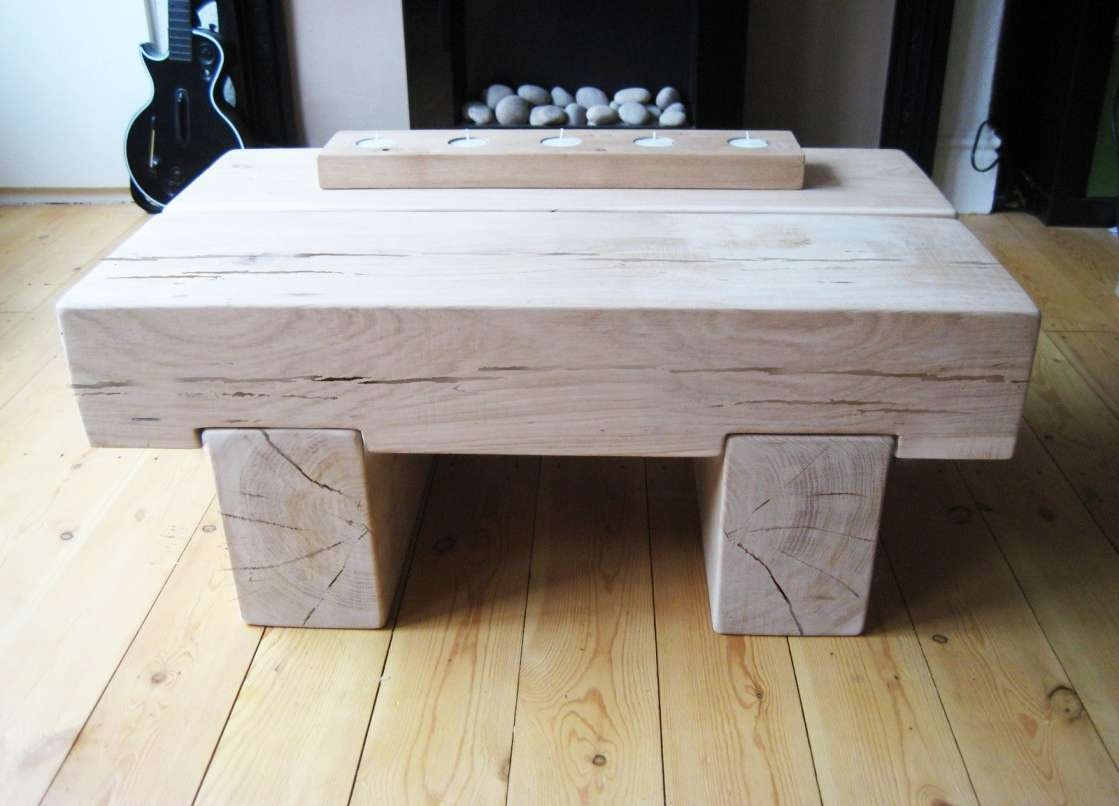 Most Recently Released Chunky Wood Coffee Tables For Home ~ Beach Coffee Table Decor Chunky Engraved Cutting Board (View 3 of 20)
