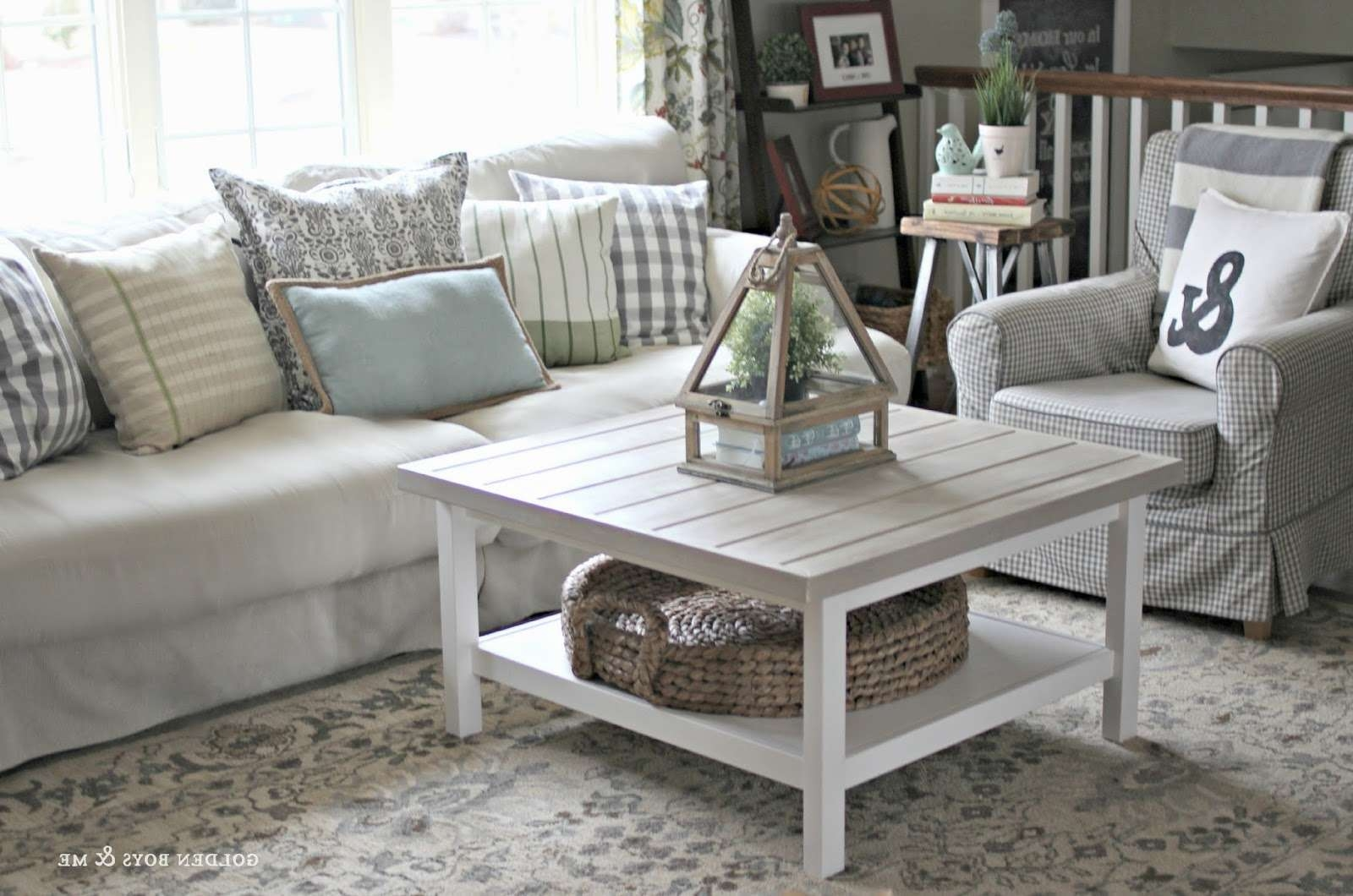 Most Recently Released Coffee Tables With Baskets Underneath With Regard To Coffee Table : Under Coffee Table Storage Baskets For Tableunder (View 8 of 20)