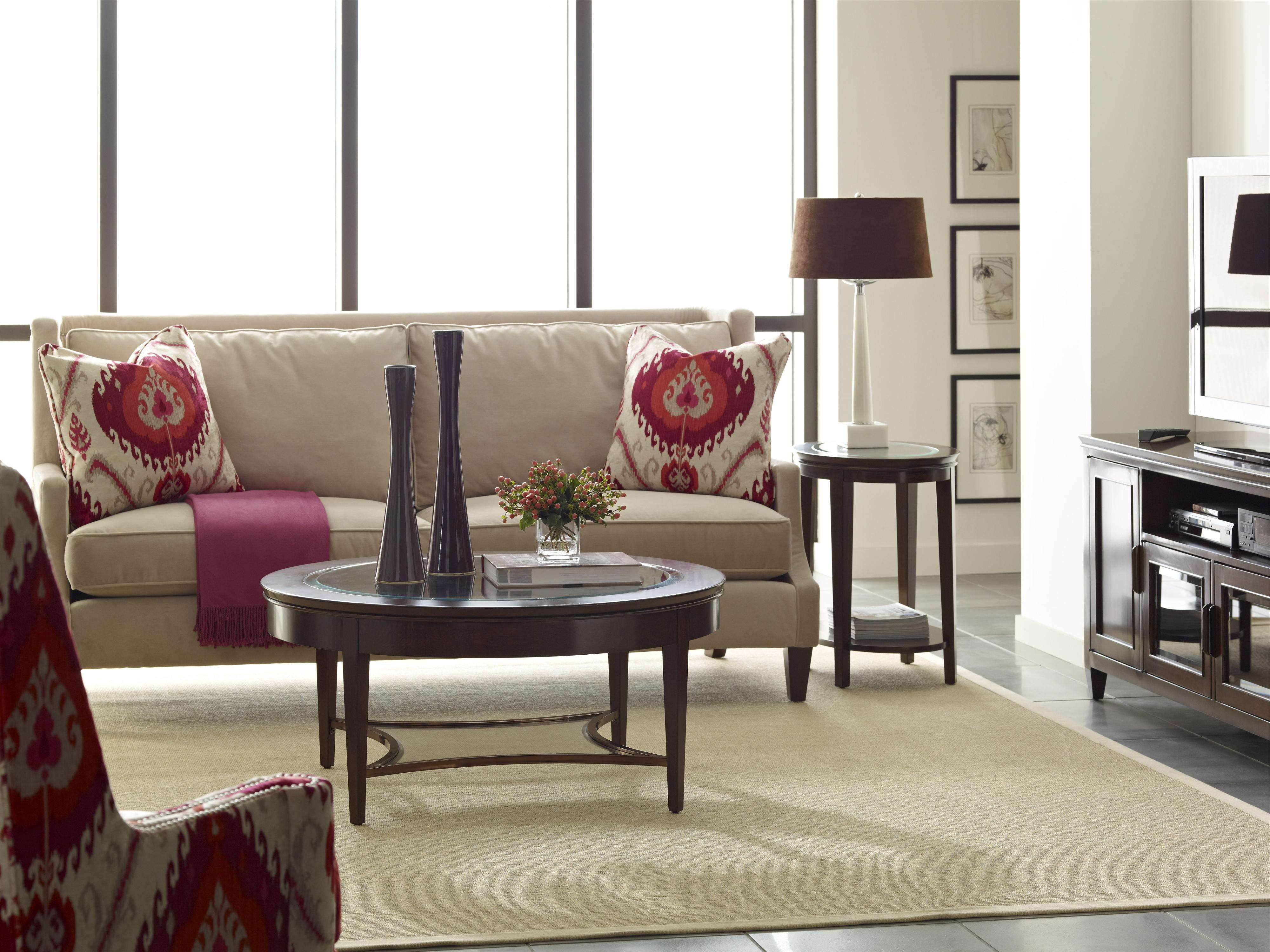 Most Recently Released Elise Coffee Tables Throughout Kincaid Furniture Elise Transitional Elise End Table With One (View 12 of 20)